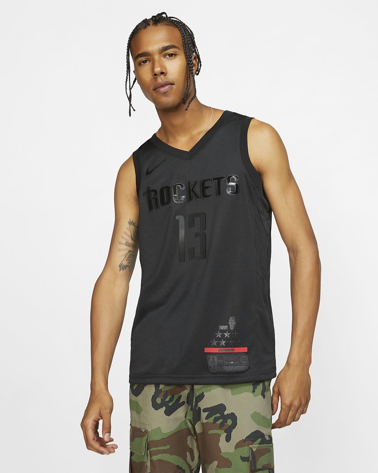 Camiseta conectada Nike NBA para hombre James Harden MVP Swingman (Houston Rockets)
