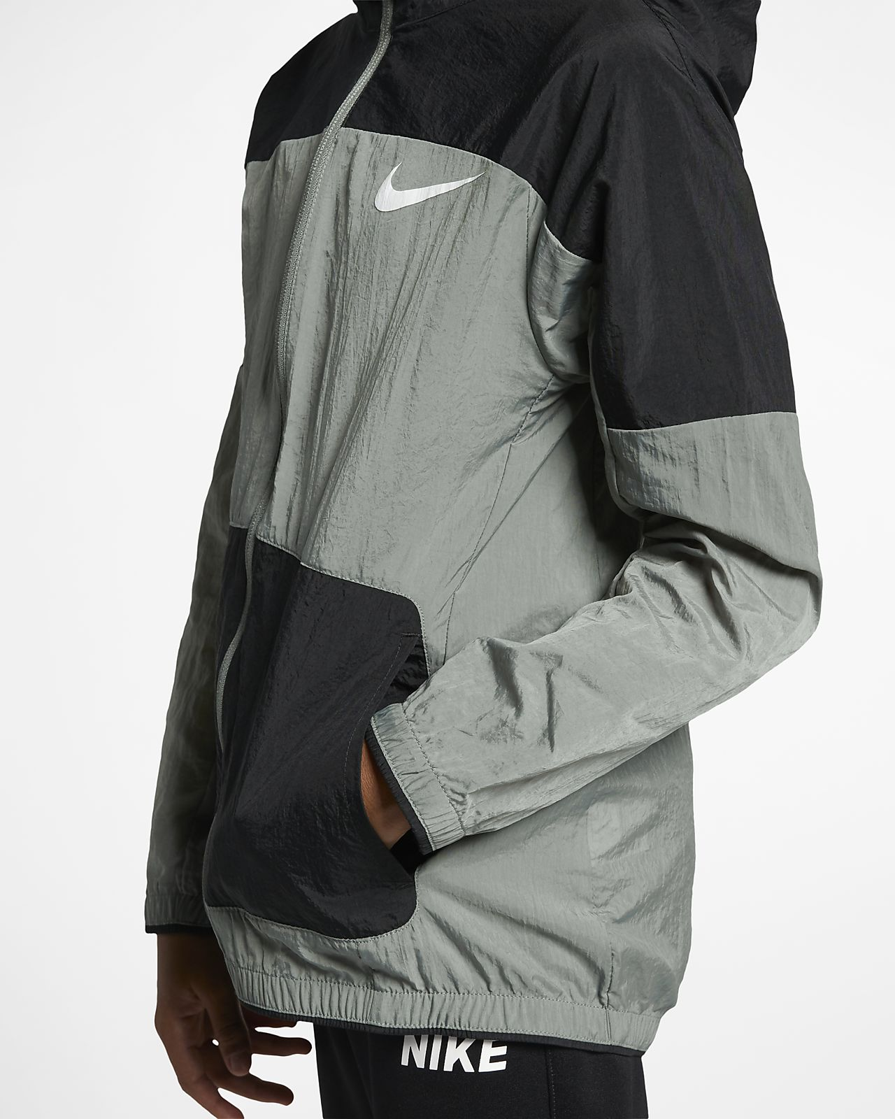 b73ac0035 Nike Dri-FIT Older Kids' Woven Training Jacket. Nike.com DK