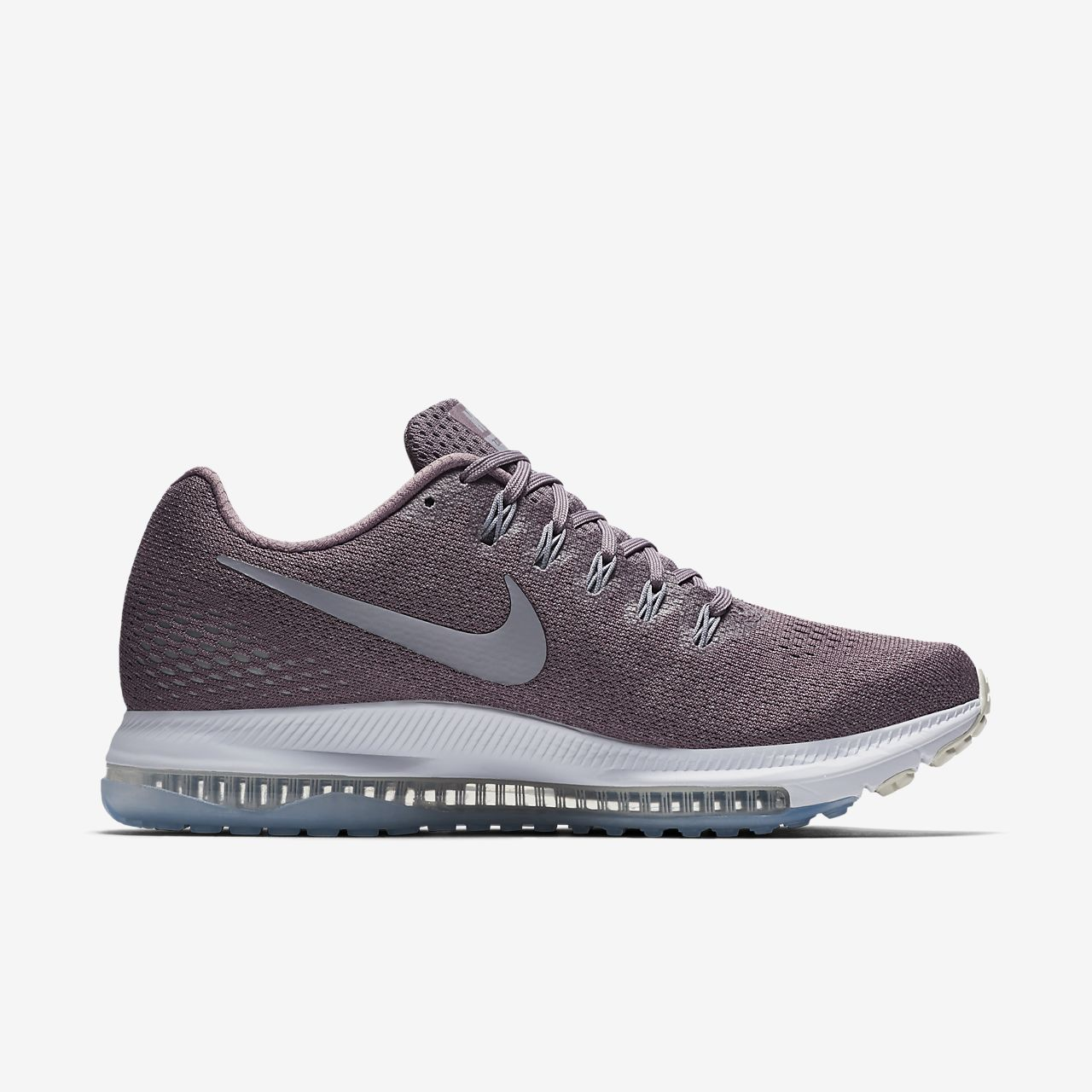Nike Zoom All Out Low Women's Running Shoes Size 6.5 TAUPE GREY/PROVENCE PURPLE
