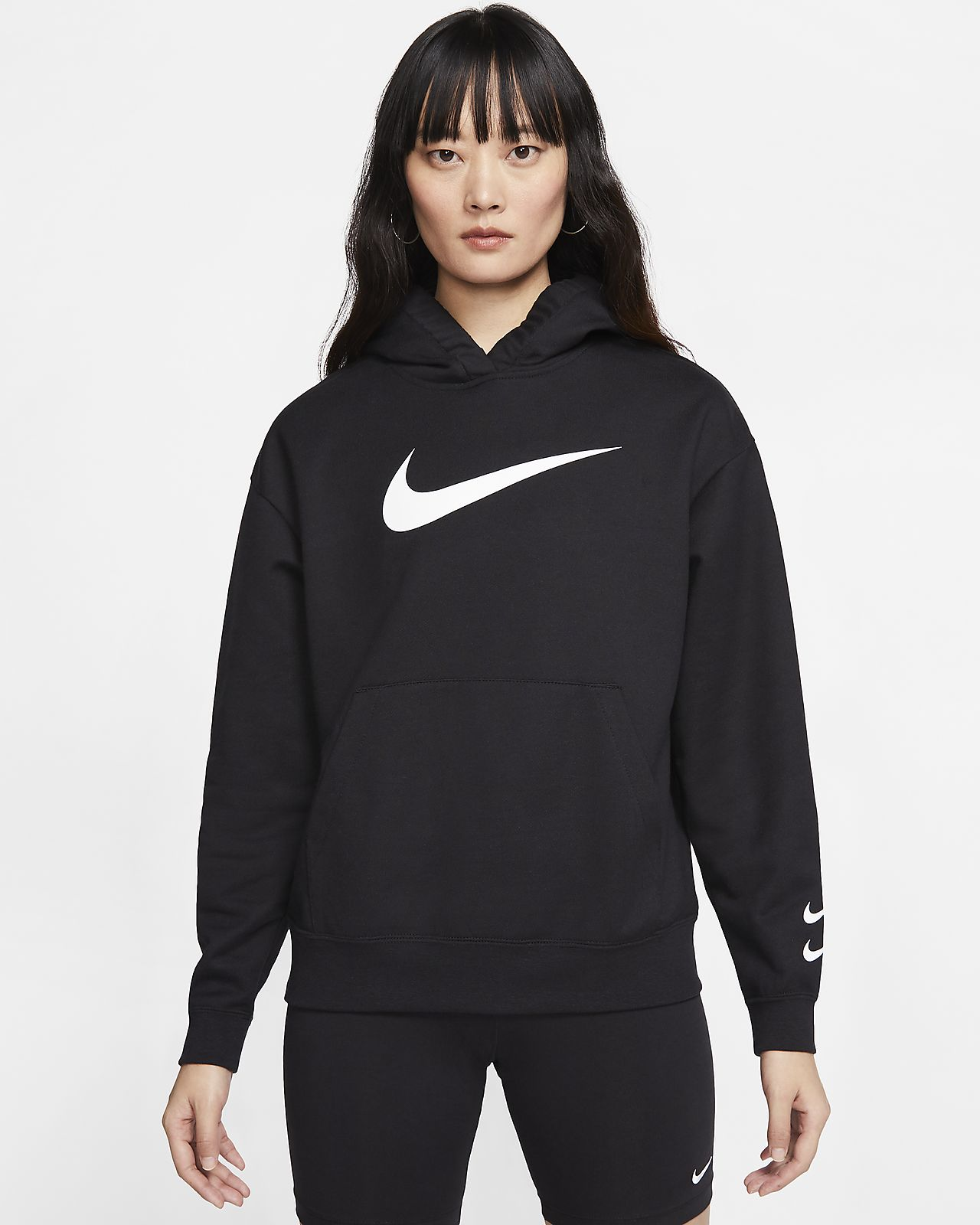 Nike Sportswear Swoosh Damen-Hoodie