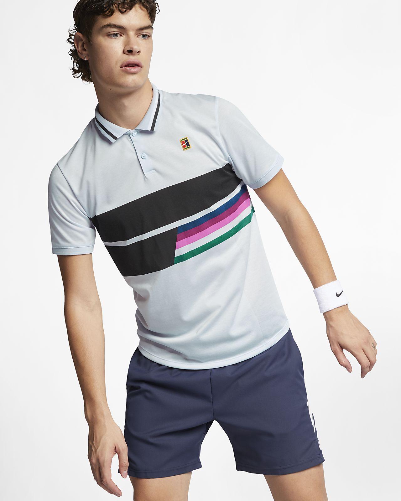 Pánská tenisová polokošile NikeCourt