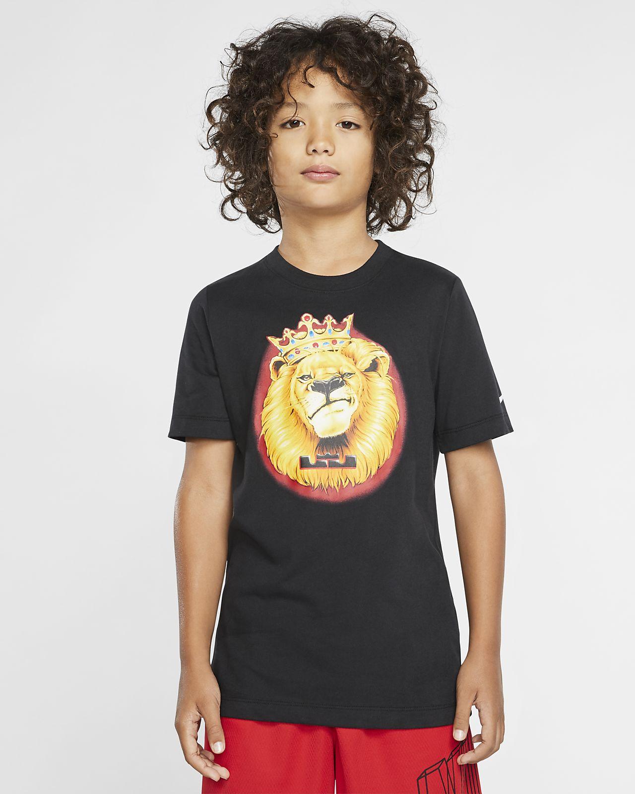 Nike Dri-FIT LeBron Older Kids' Basketball T-Shirt