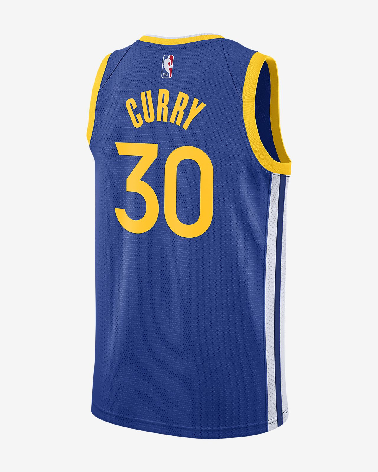 new styles 3c2a6 00d58 Stephen Curry Icon Edition Swingman (Golden State Warriors) Men's Nike NBA  Connected Jersey