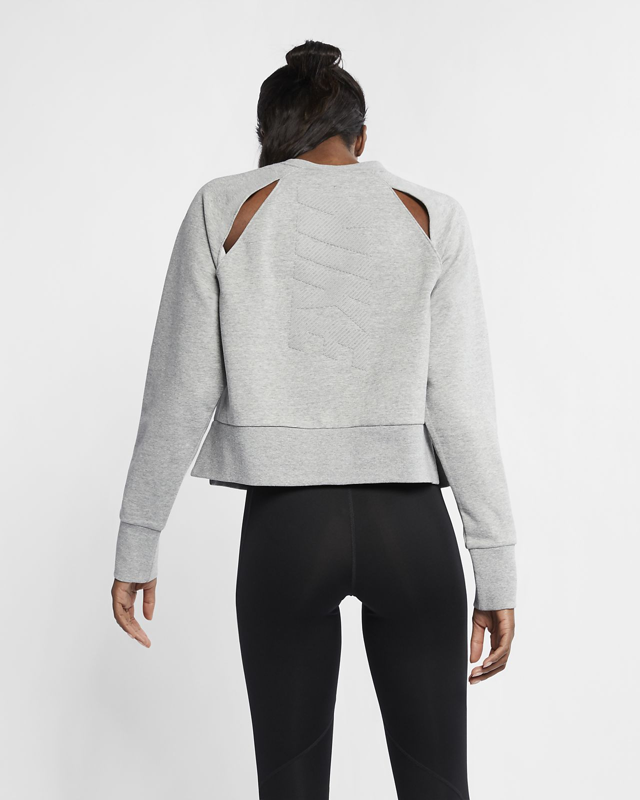 d661e2310f94 ... Haut d entraînement de yoga à manches longues Nike Dri-FIT pour Femme