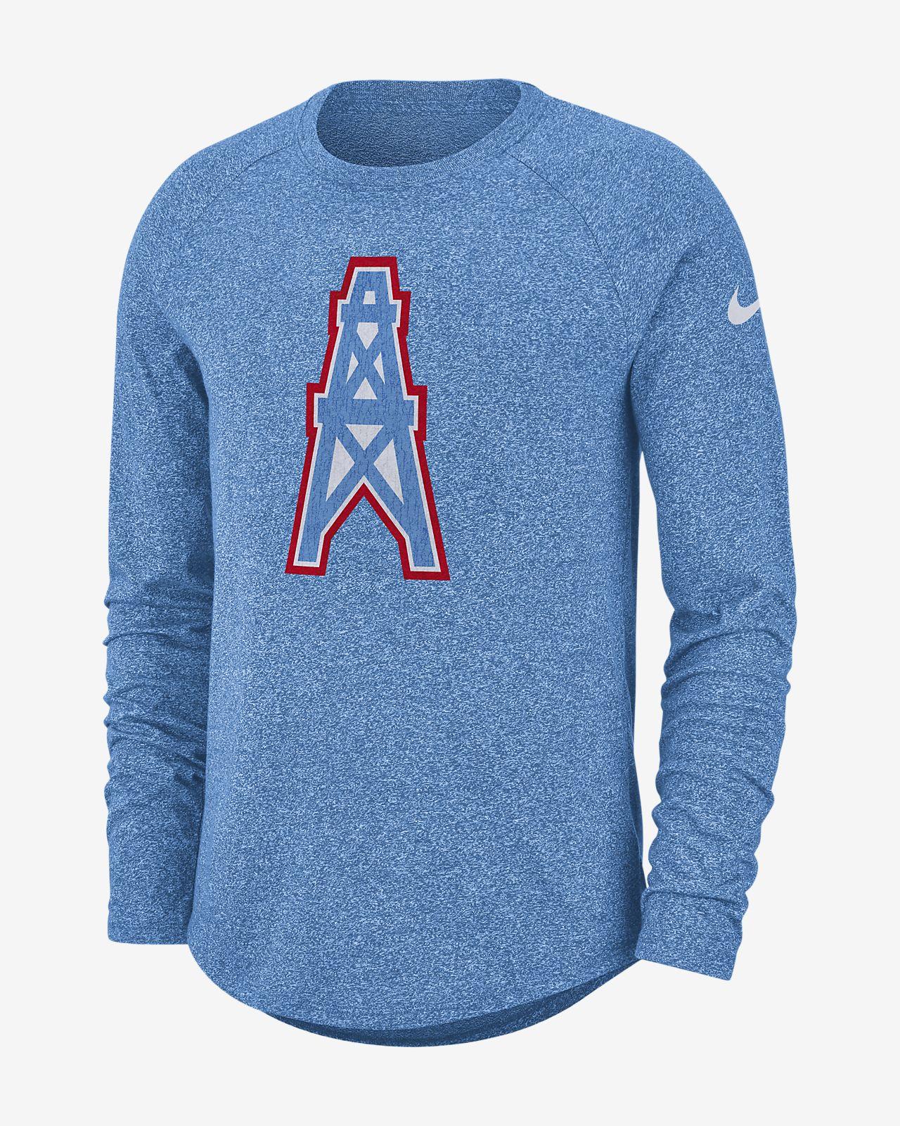 Nike Historic (NFL Titans) Men's Long-Sleeve T-Shirt