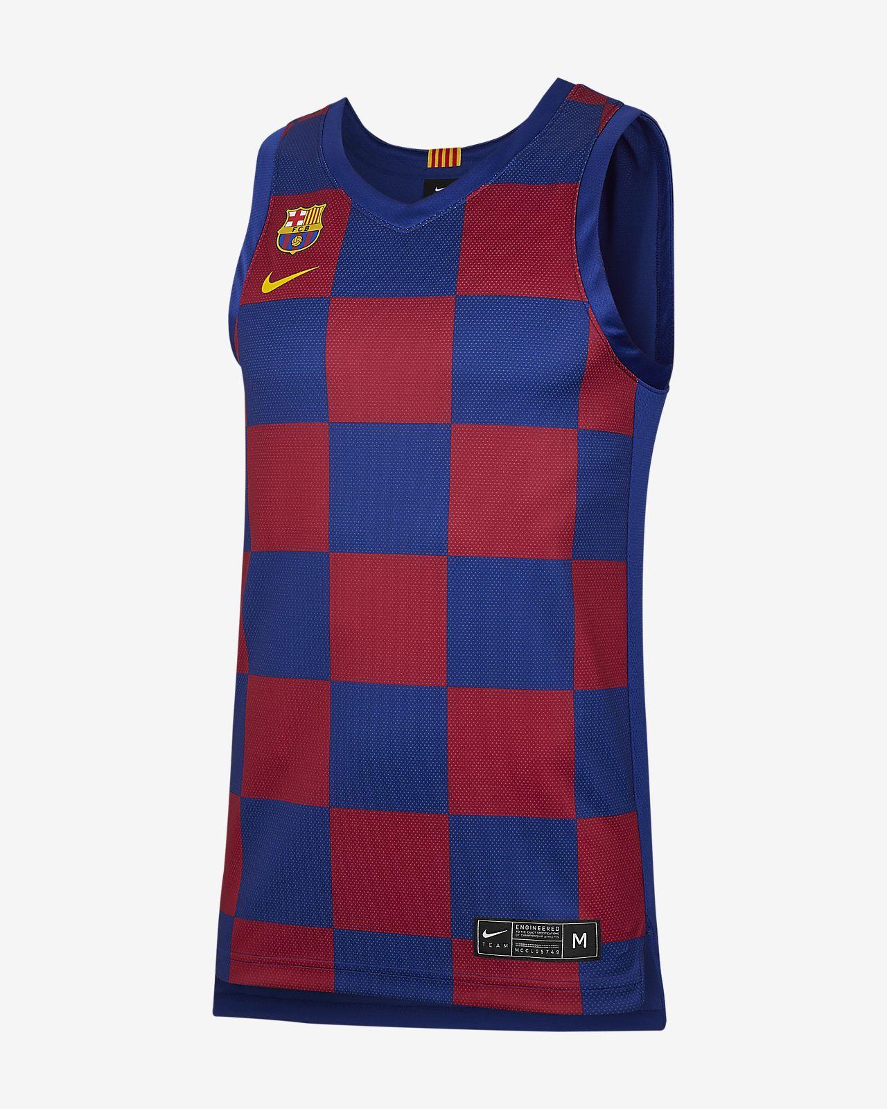 FC Barcelona Men's Replica Home Jersey