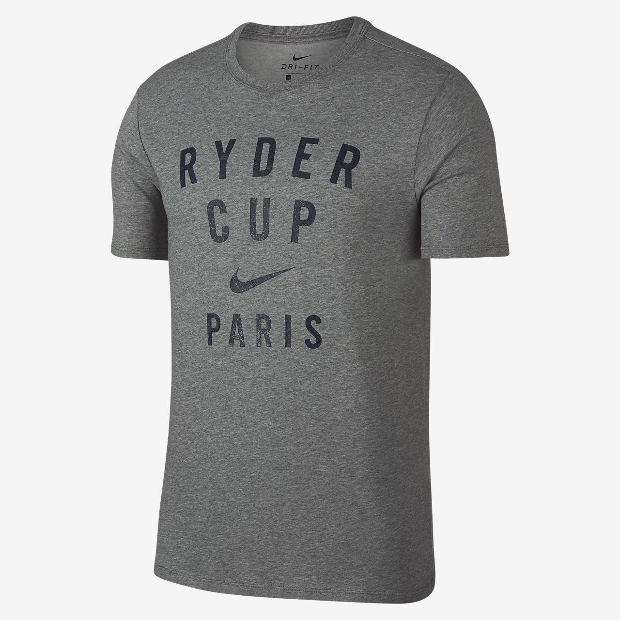 T-shirt da golf con grafica Nike Dri-FIT Ryder Cup