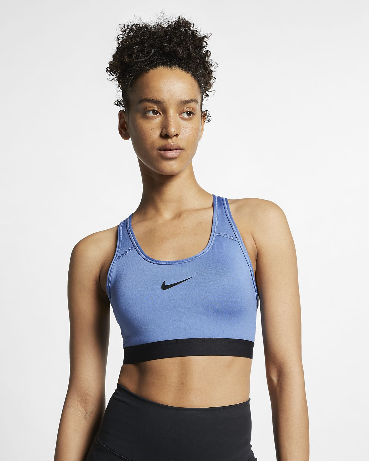 6cc1c80b5 Nike Classic Padded Women s Medium-Support Sports Bra. Nike.com