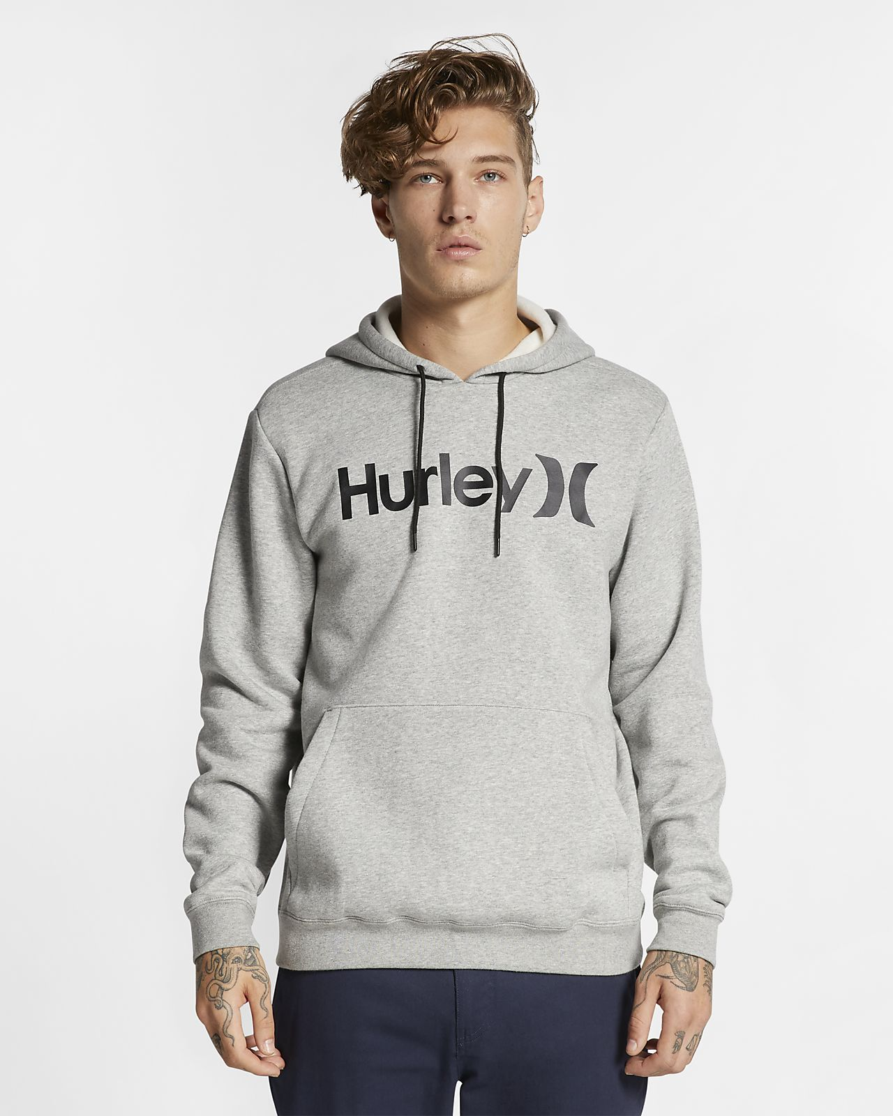 Sweat à capuche Hurley Surf Check One And Only pour Homme