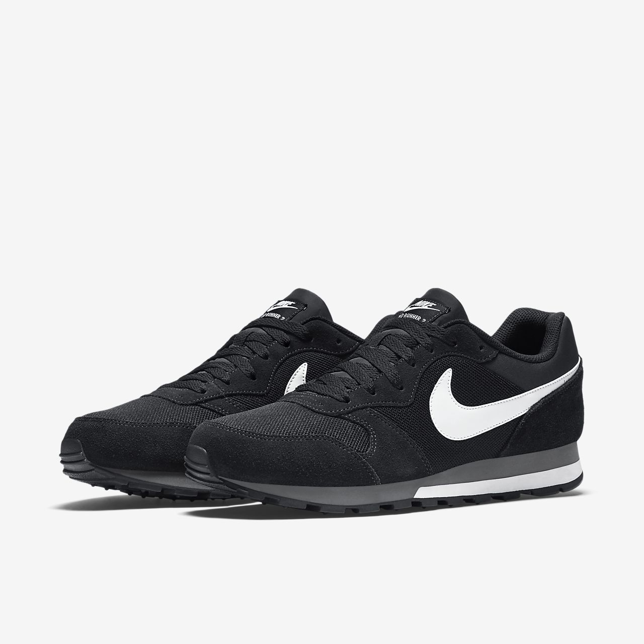 Blanc Nike Md Chaussures Pour Hommes Runner 55Cs9dc