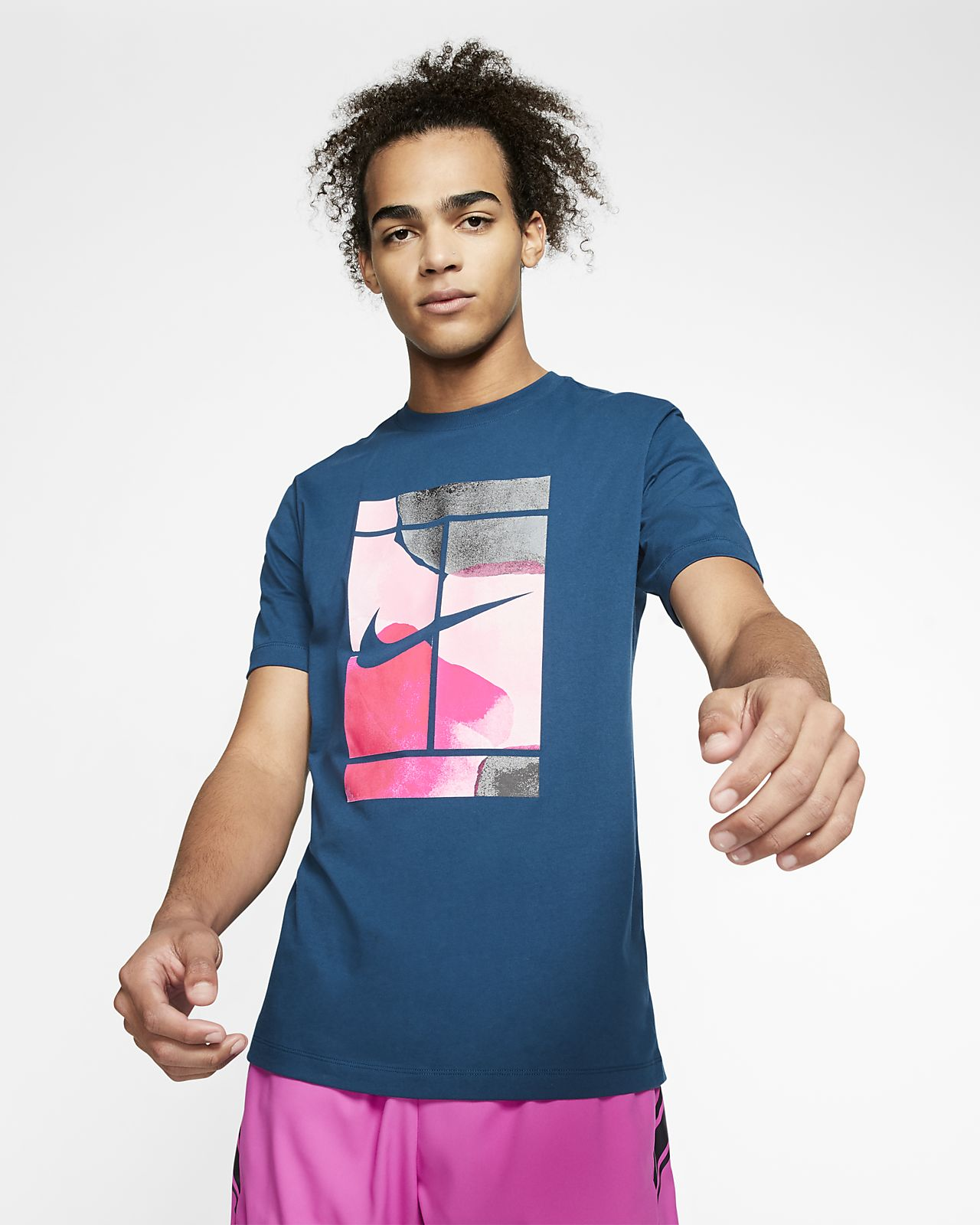 nike t shirt uomo tennis