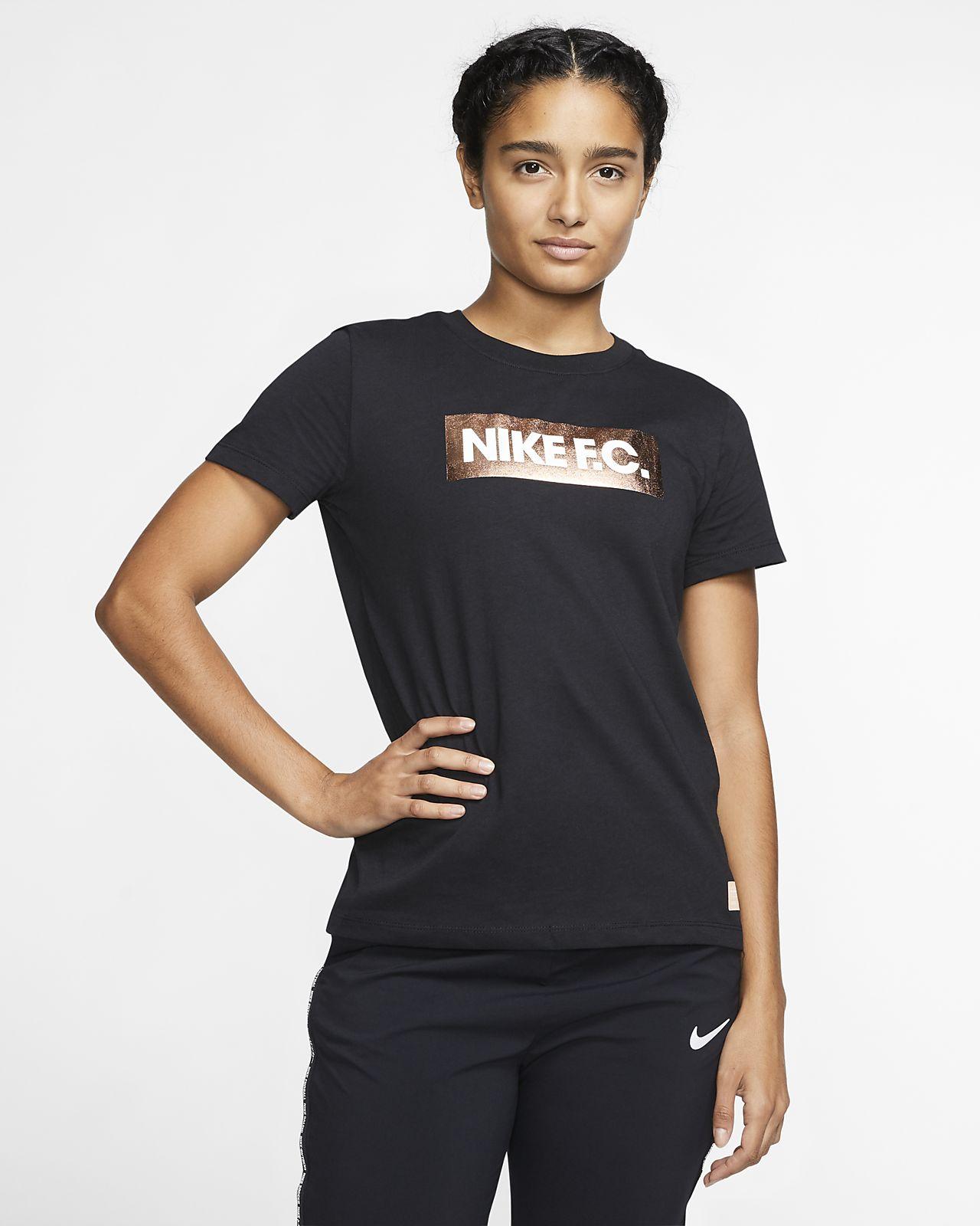 Женская игровая футболка Nike F.C.