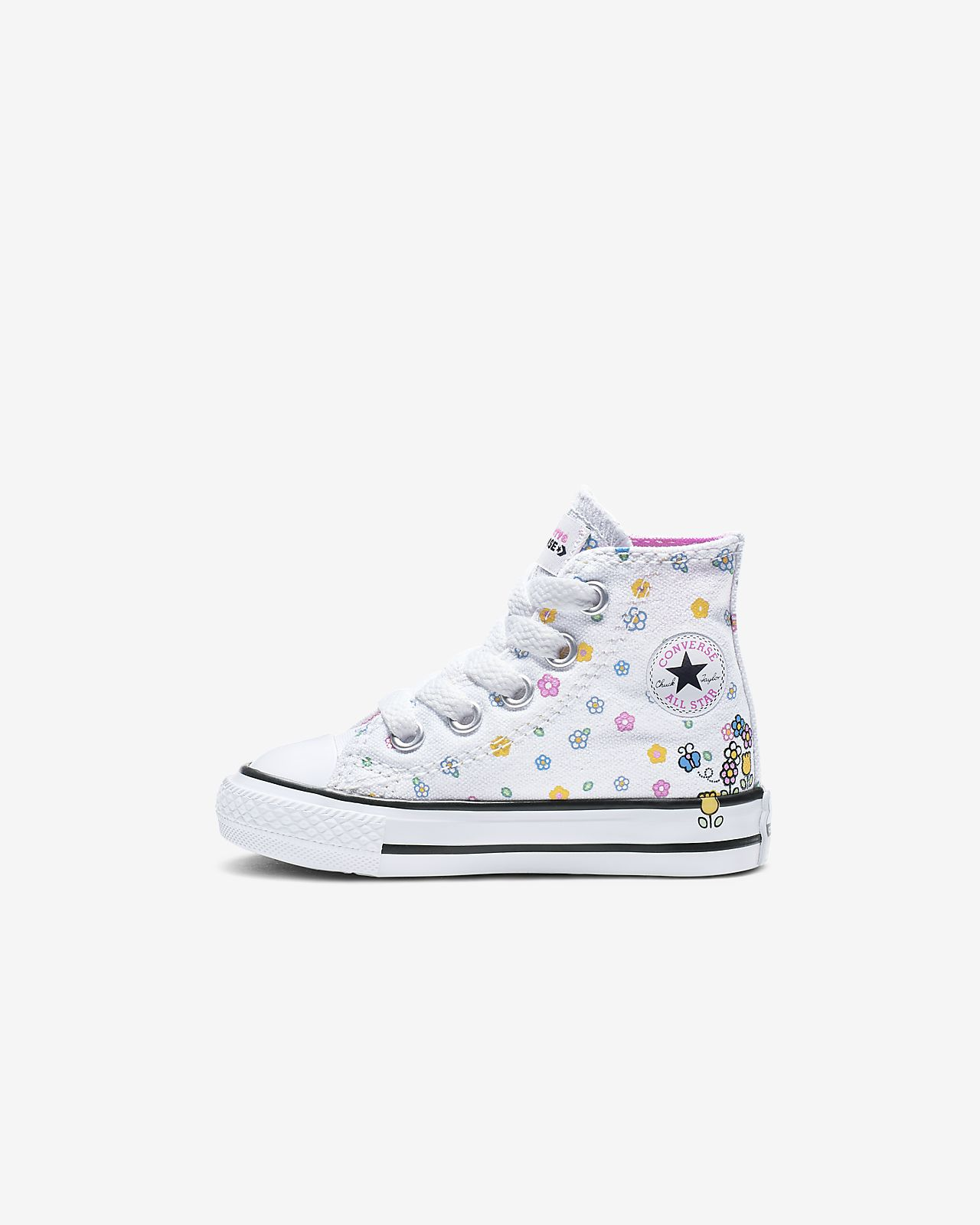 Converse x Hello Kitty Chuck Taylor All Star High Top Baby Shoe