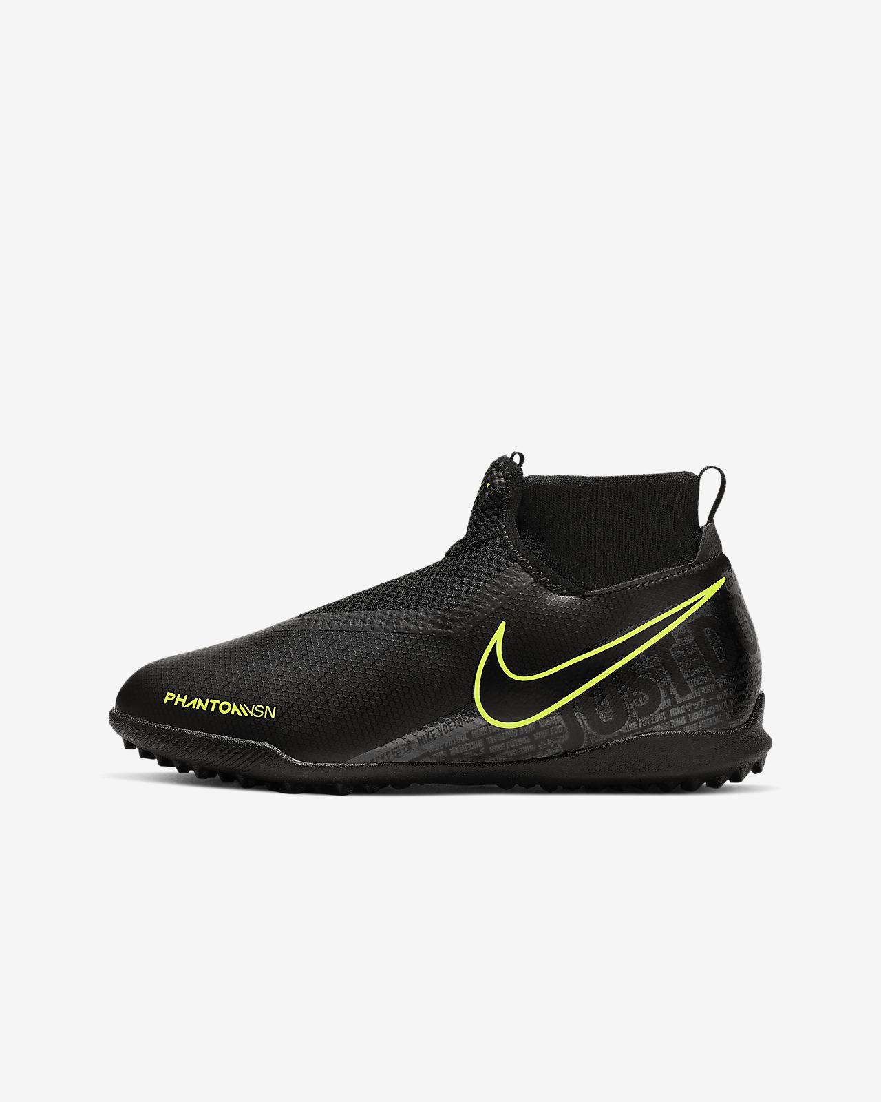 Nike Jr. Phantom Vision Academy Dynamic Fit Botes de futbol per a moqueta-turf - Nen/a i nen/a petit/a