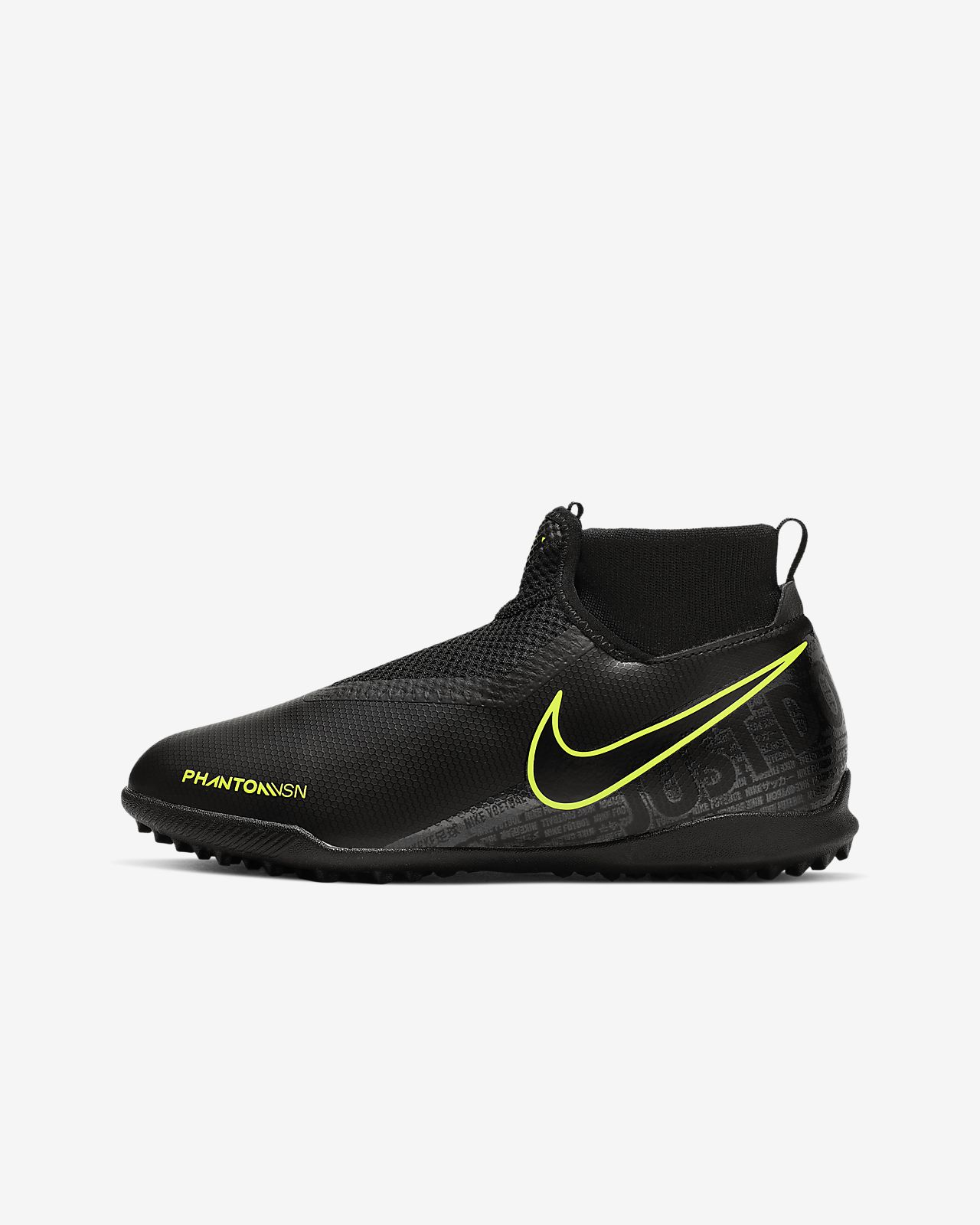 Nike Jr. Phantom Vision Academy Dynamic Fit Younger/Older Kids' Turf Football Shoe