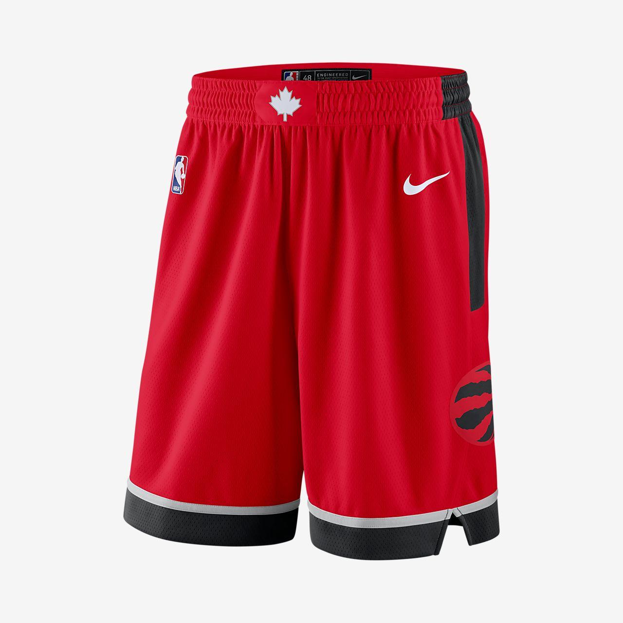 Shorts de la NBA para hombre Toronto Raptors Icon Edition Swingman