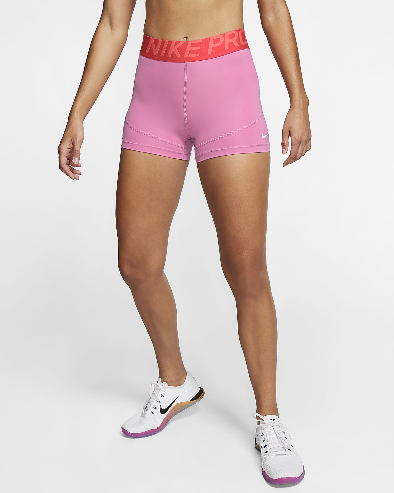 "Nike Pro Women's 3"" (7.5cm approx.) Training Shorts"