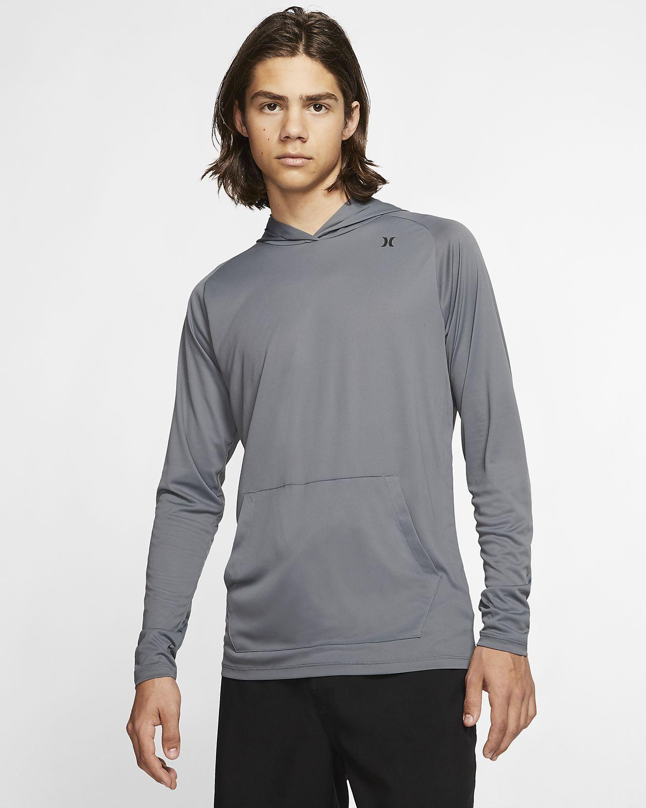 Hurley Quick Dry Erkek Kapüşonlu Sweatshirt'ü