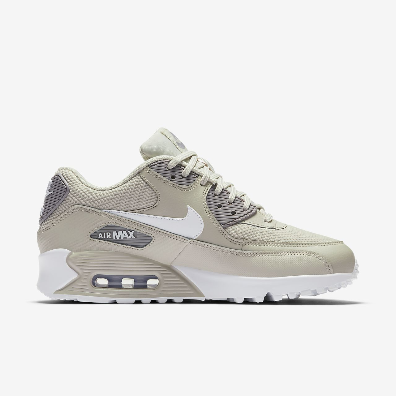 Nike Sportswear AIR MAX 90 - Trainers - desert sand/white/atmosphere grey OfemPuj