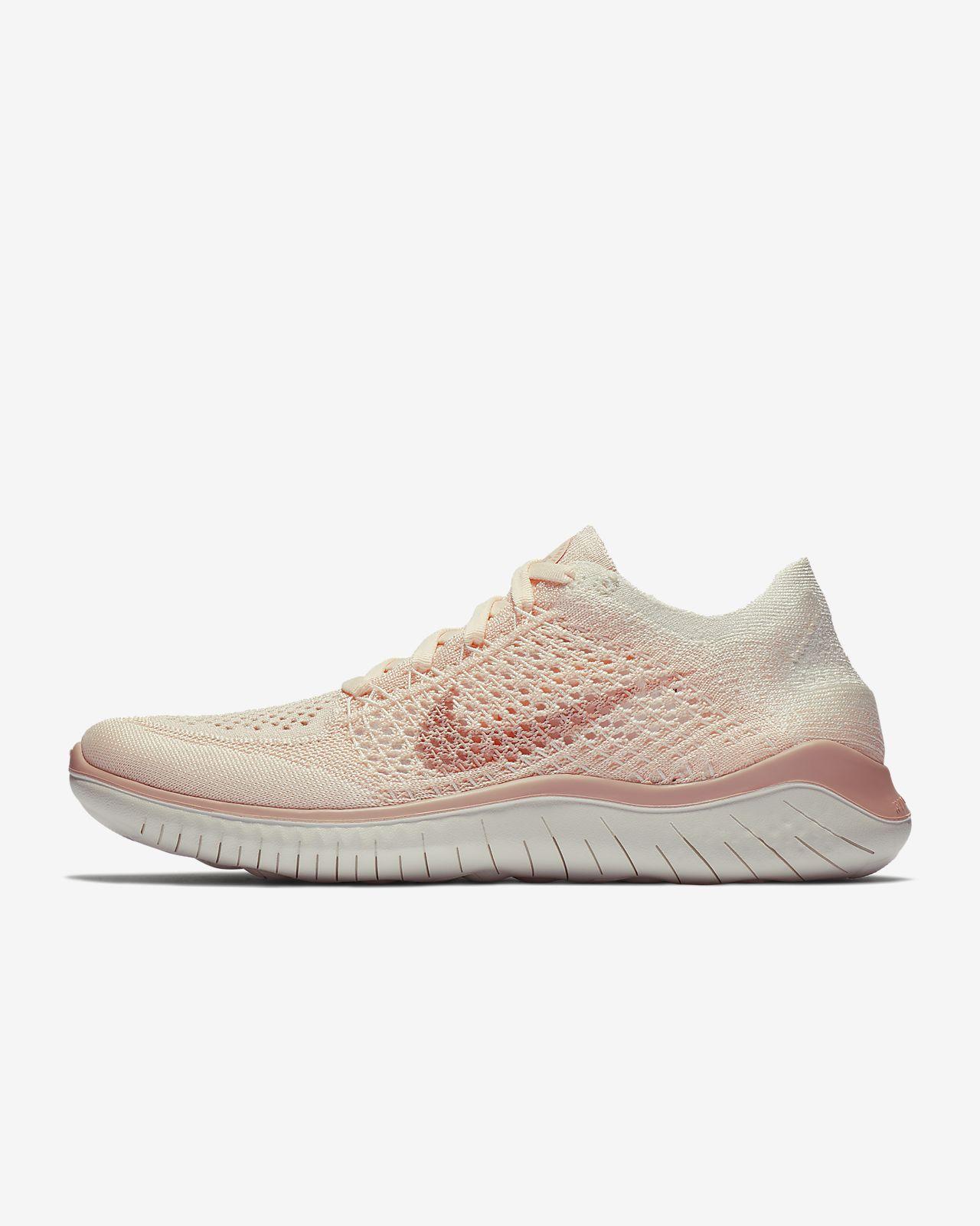 Women's Running Shoe. Nike Free RN Flyknit 2018