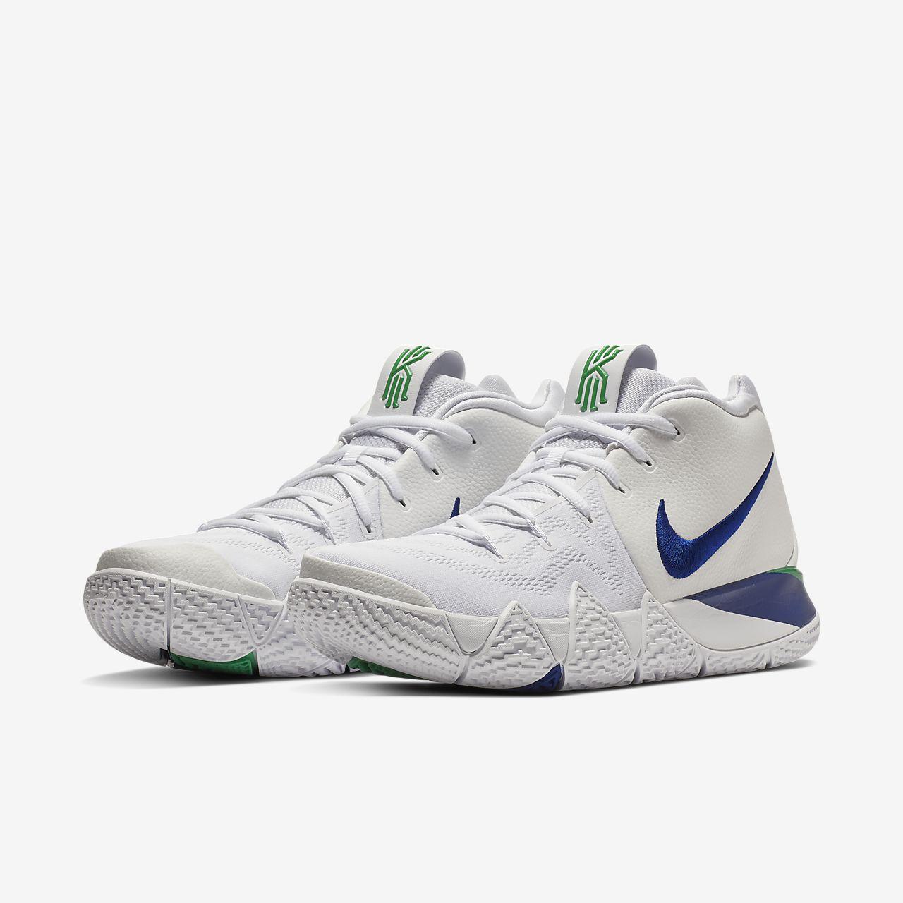 sports shoes 0c000 3ccf5 Nike Kyrie 4 Royal Blue Gold White Men s Basketball Shoes