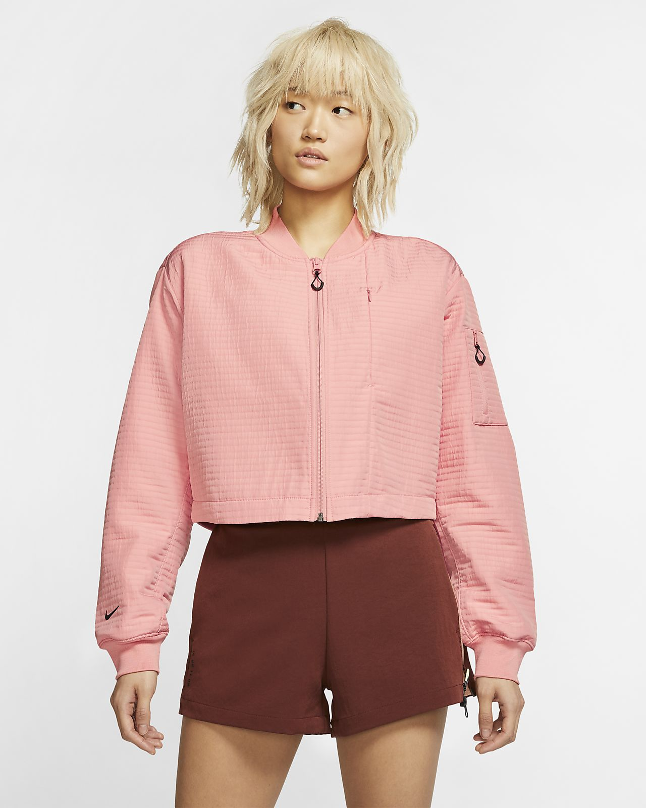 Chamarra bomber para mujer Nike Sportswear Tech Pack City Ready