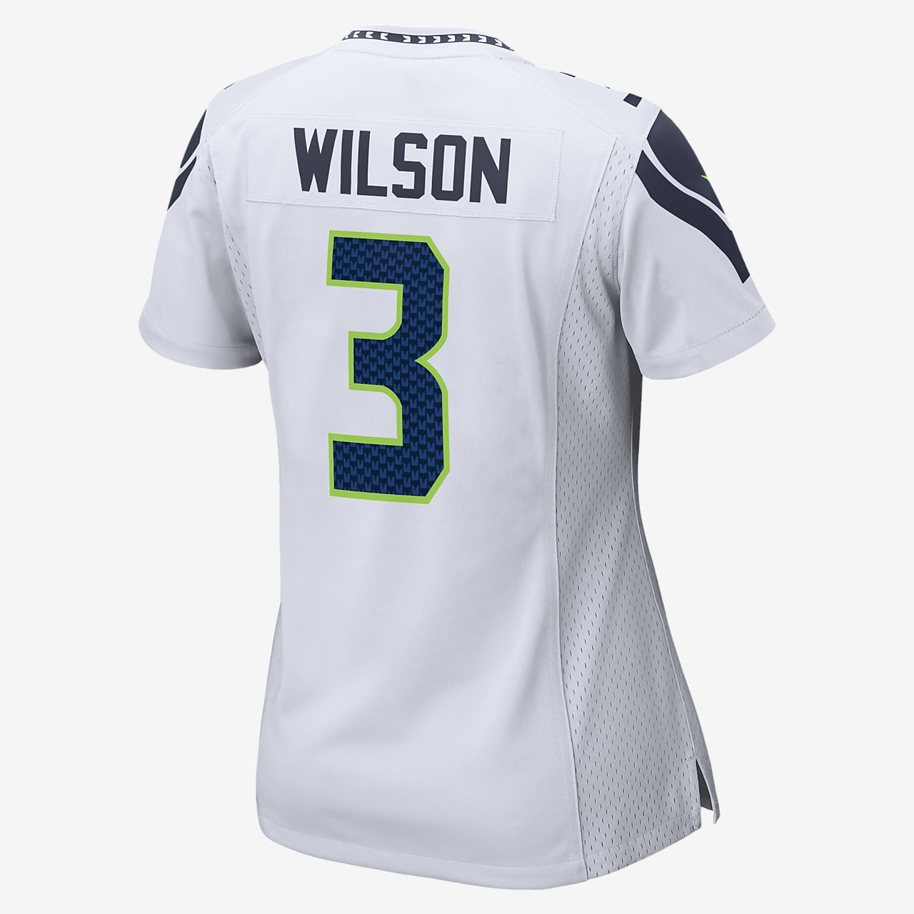 low priced aa03a 72616 NFL Seattle Seahawks (Russell Wilson) Women's Game Football Jersey