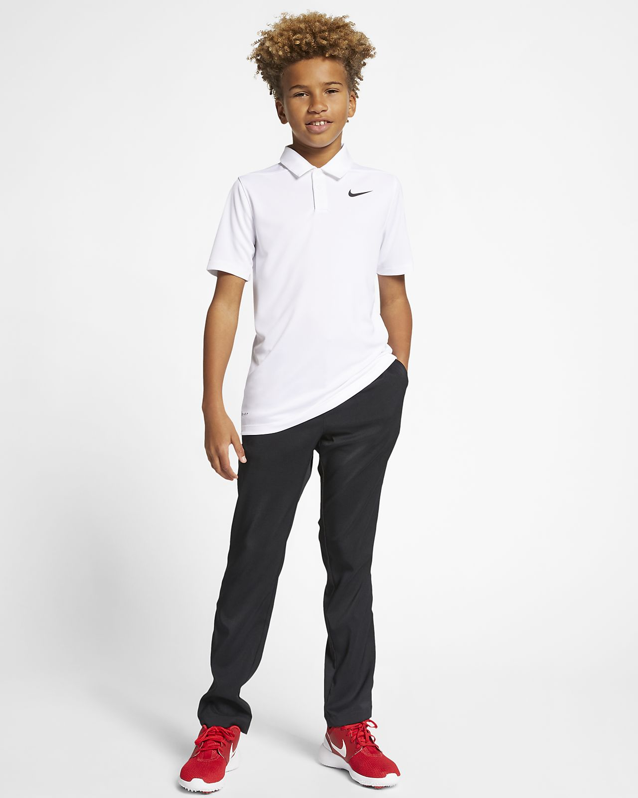 82e08c5a Nike Dri-FIT Victory Older Kids' (Boys') Golf Polo. Nike.com GB