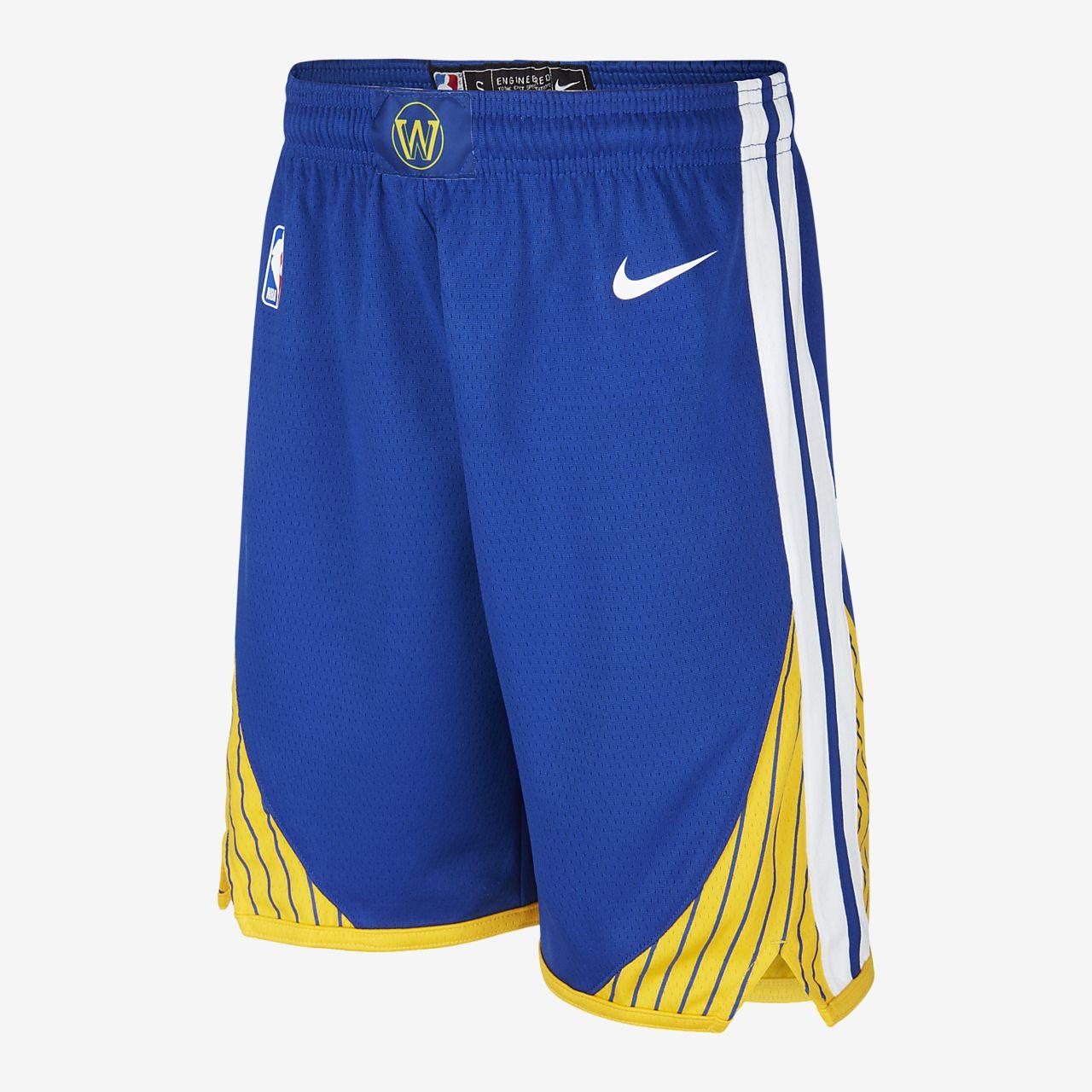 Warriors Icon Edition Pantalón corto Nike NBA Swingman Niñoa