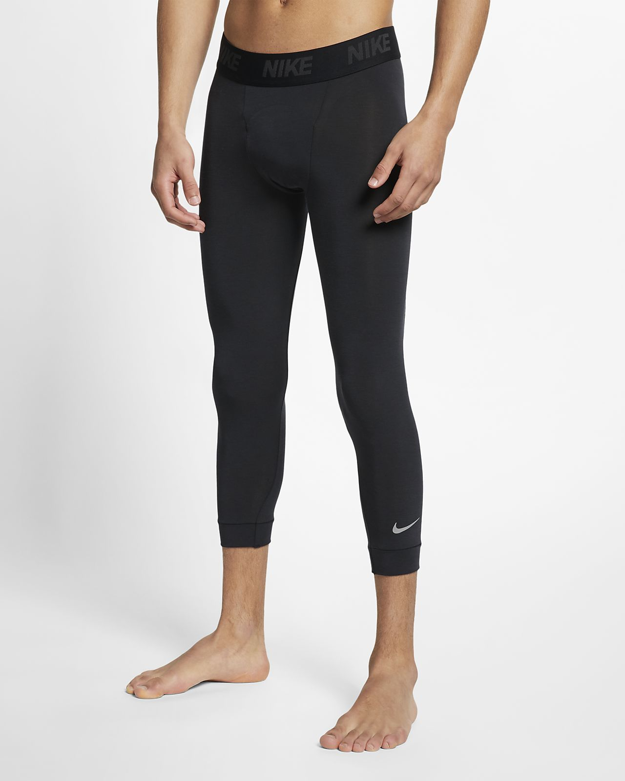 Nike Dri-FIT 3/4-Yoga-Trainingstights für Herren