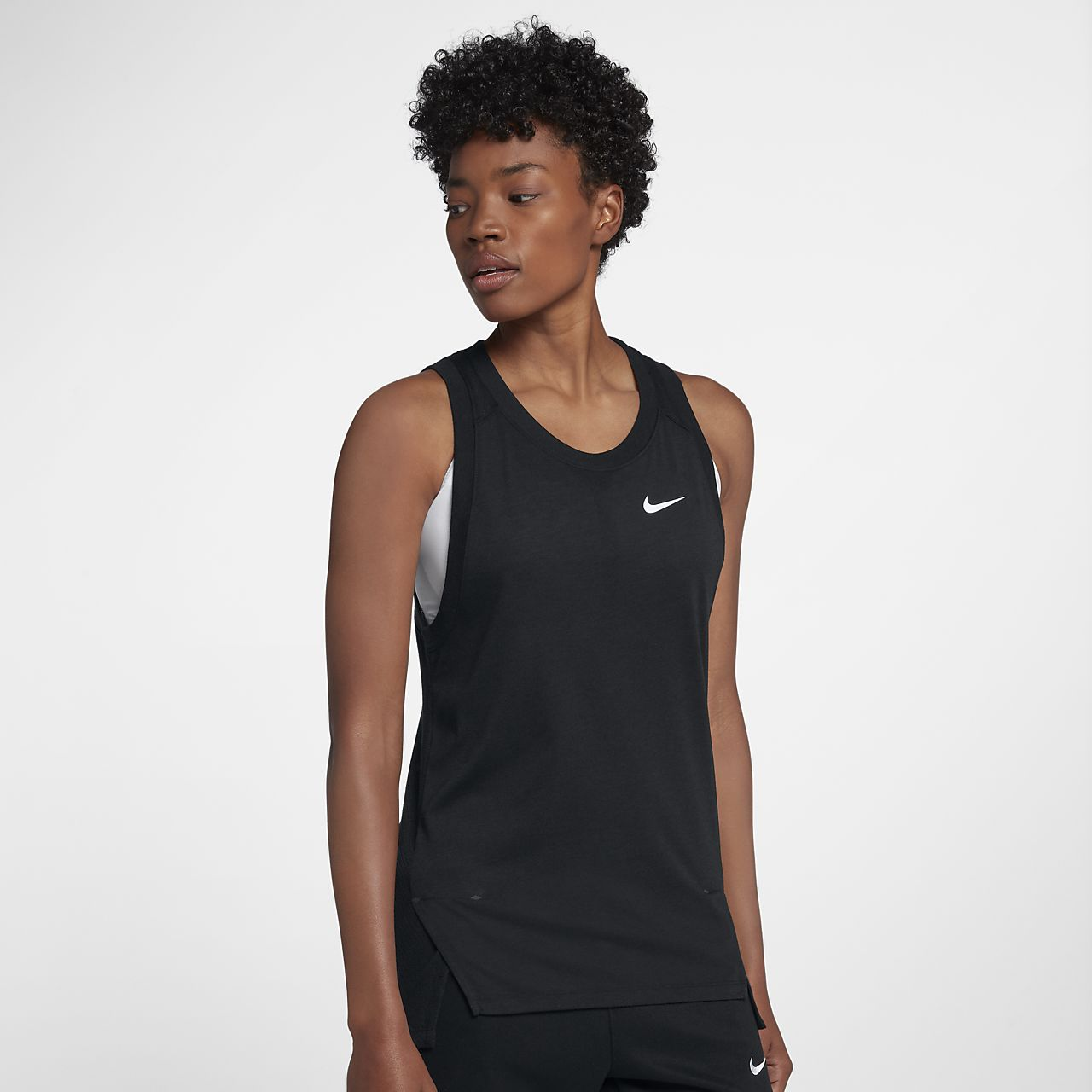de Camiseta para Nike running mujer tirantes de Breathe 29IEHDWY