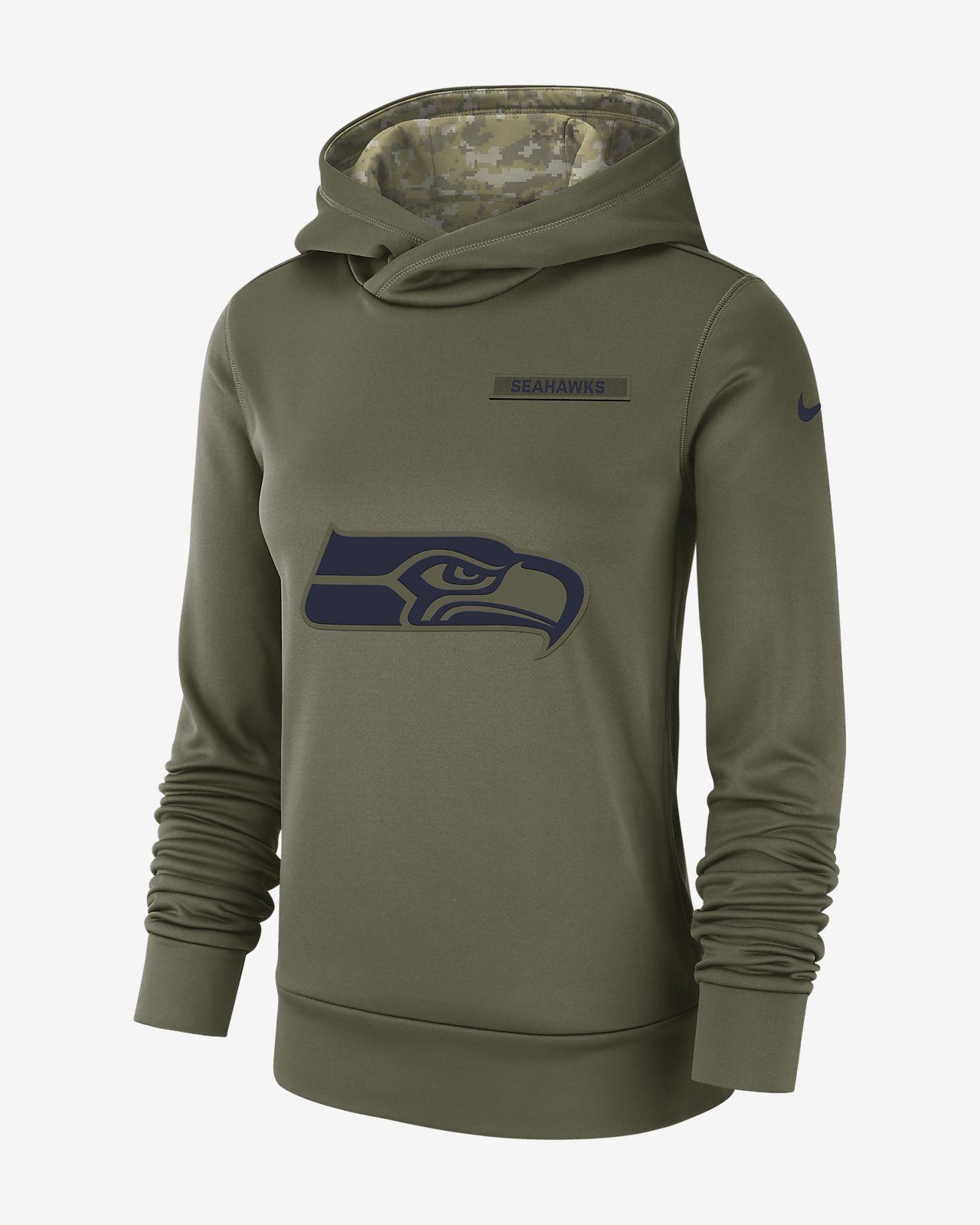 Nike Therma Salute to Service (NFL Seahawks) Women's Hoodie