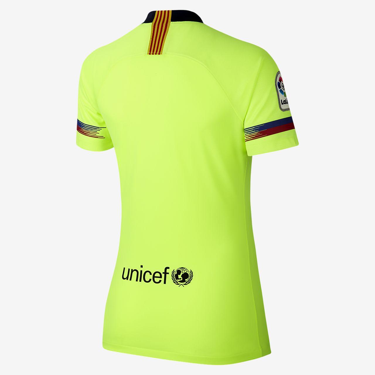 Camiseta de fútbol para mujer 2018 19 FC Barcelona Stadium Away ... ded627131d7b5
