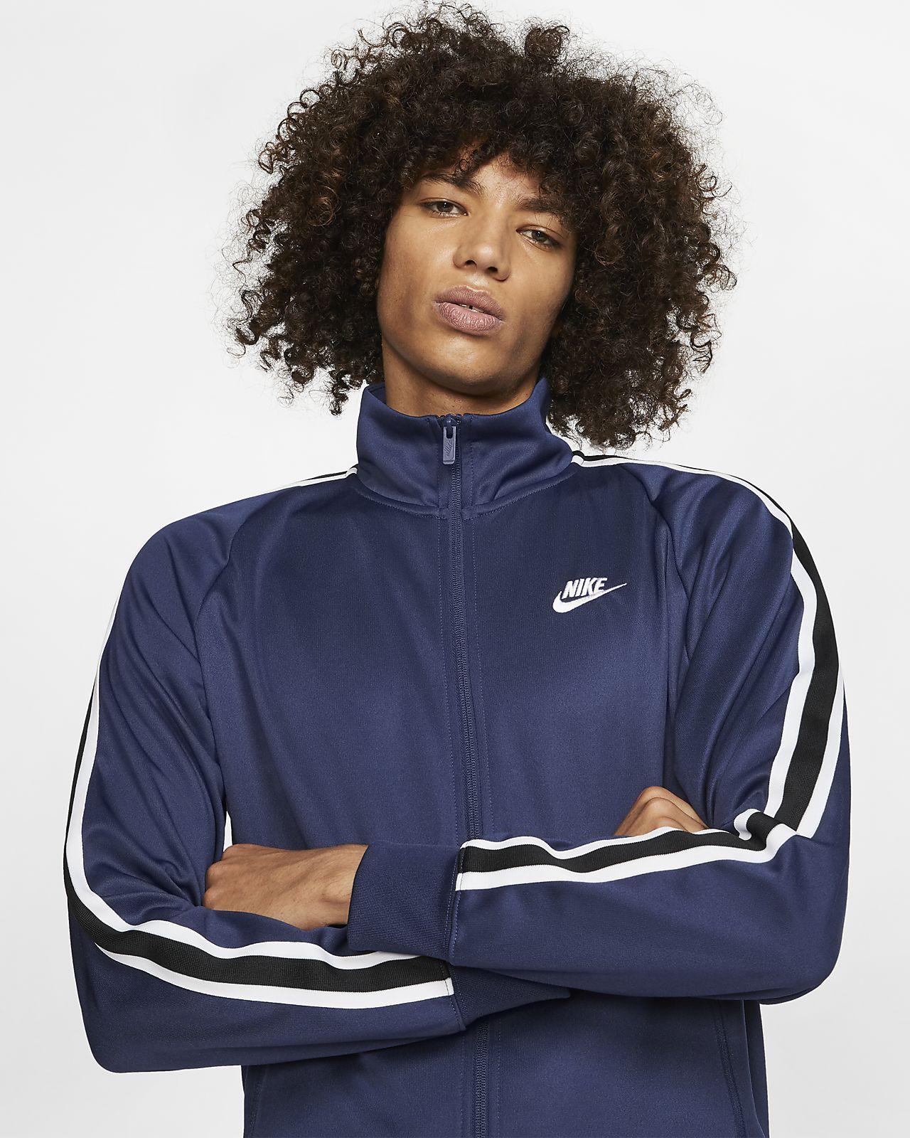 ae7ccb953 Nike Sportswear N98 Men's Knit Warm-Up Jacket. Nike.com GB