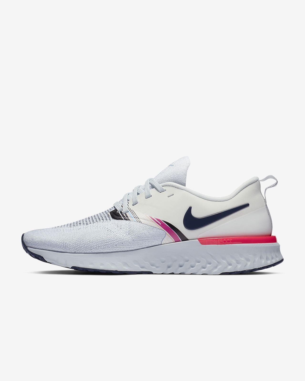 bd4abb57b7 ... Chaussure de running Nike Odyssey React Flyknit 2 Premium pour Femme