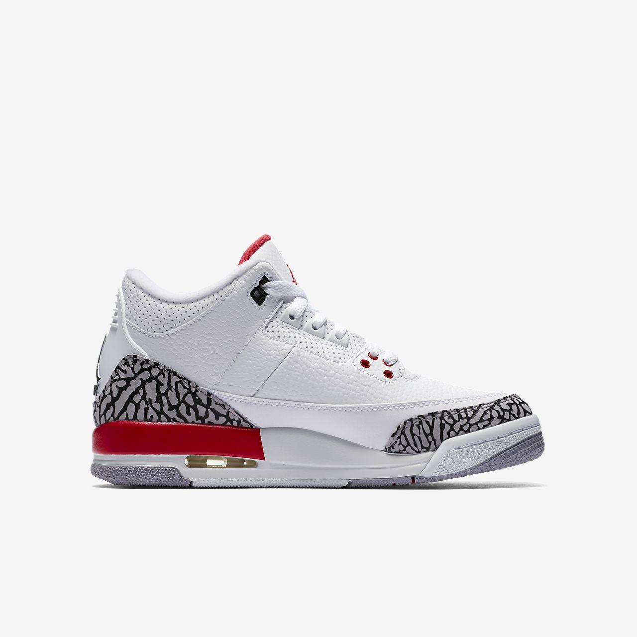sports shoes a203b c4016 Air Jordan 3 Retro Kids' Shoe