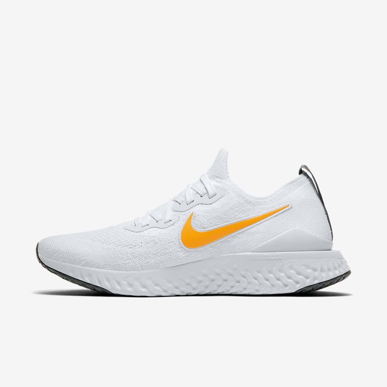nike epic react flyknit 2 homme blanche