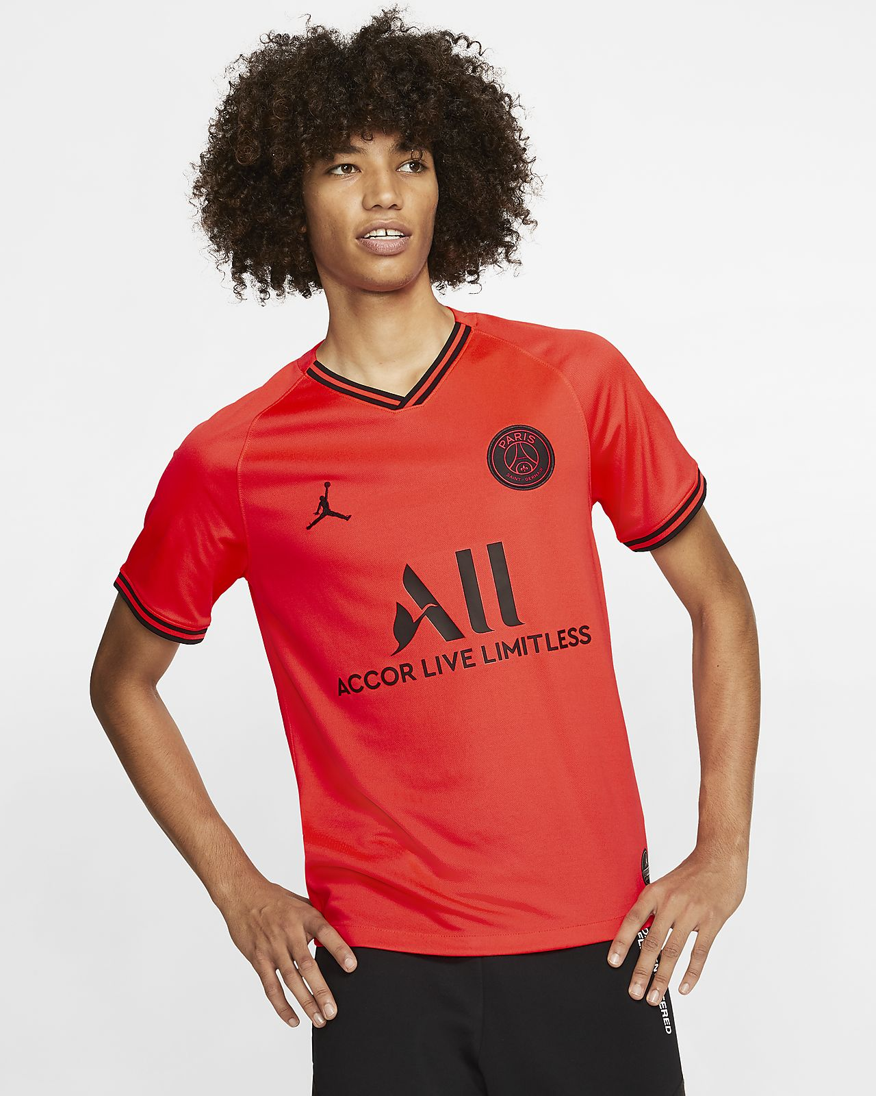 Jordan x Paris Saint-Germain 2019/20 Stadium Away Football Shirt