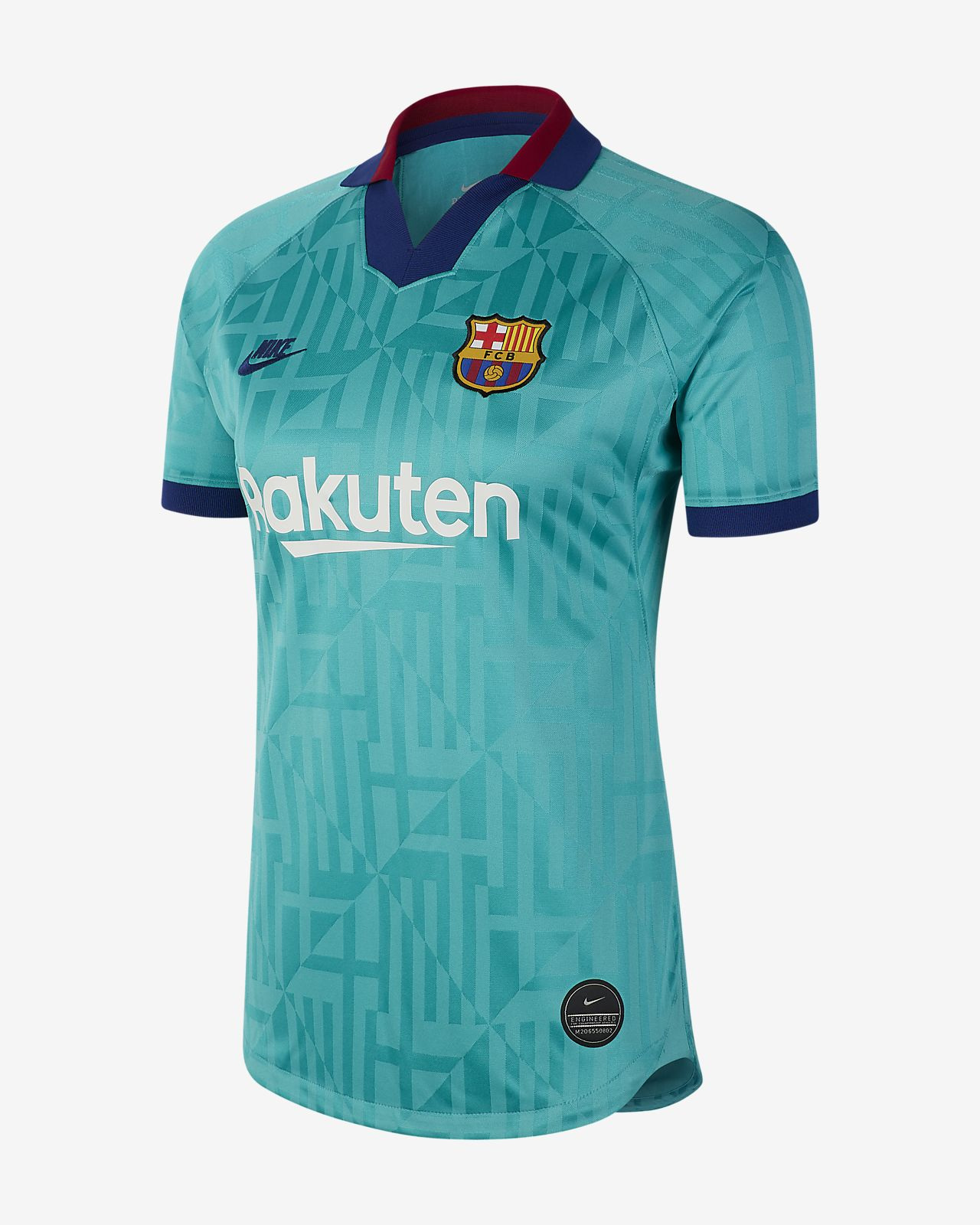 FC Barcelona 2019/20 Stadium Third Women's Football Shirt