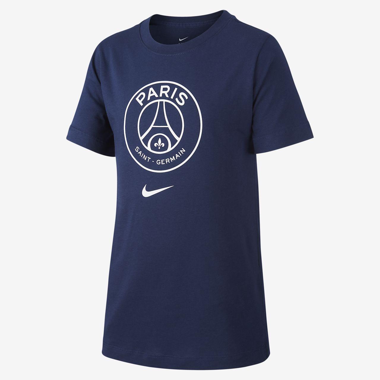 T-shirt dla dużych dzieci Paris Saint-Germain