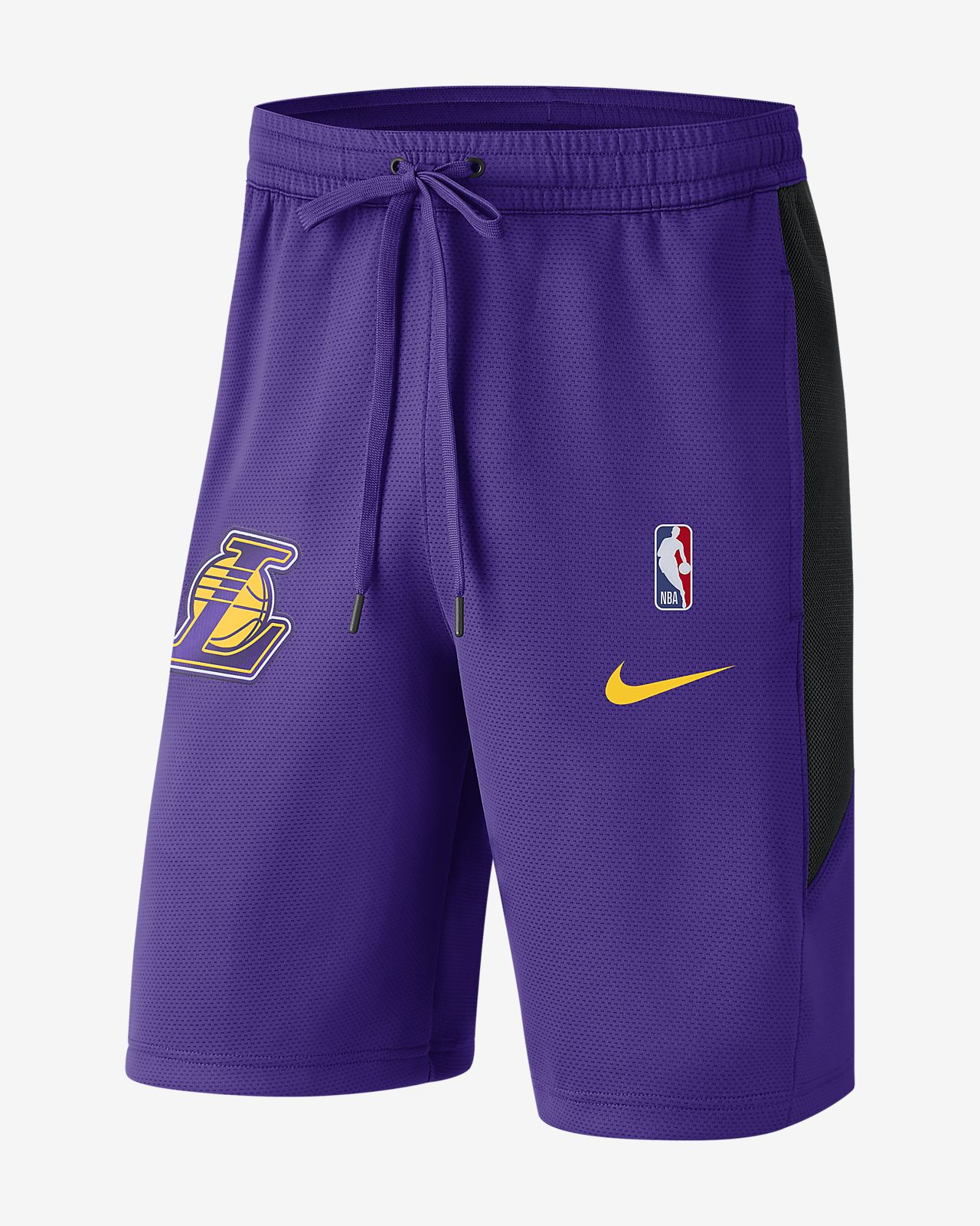 Los Angeles Lakers Nike Therma Flex Men s NBA Shorts. Nike.com 2fe1ac1a28d2