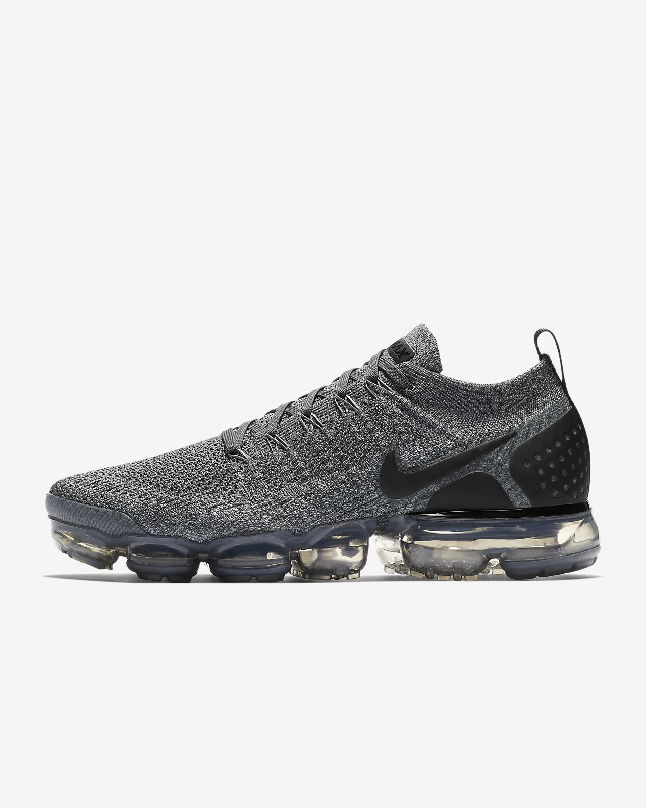 Nike Air Vapormax Flyknit 2 II Dark Grey Men Running Shoes Sneakers 942842002