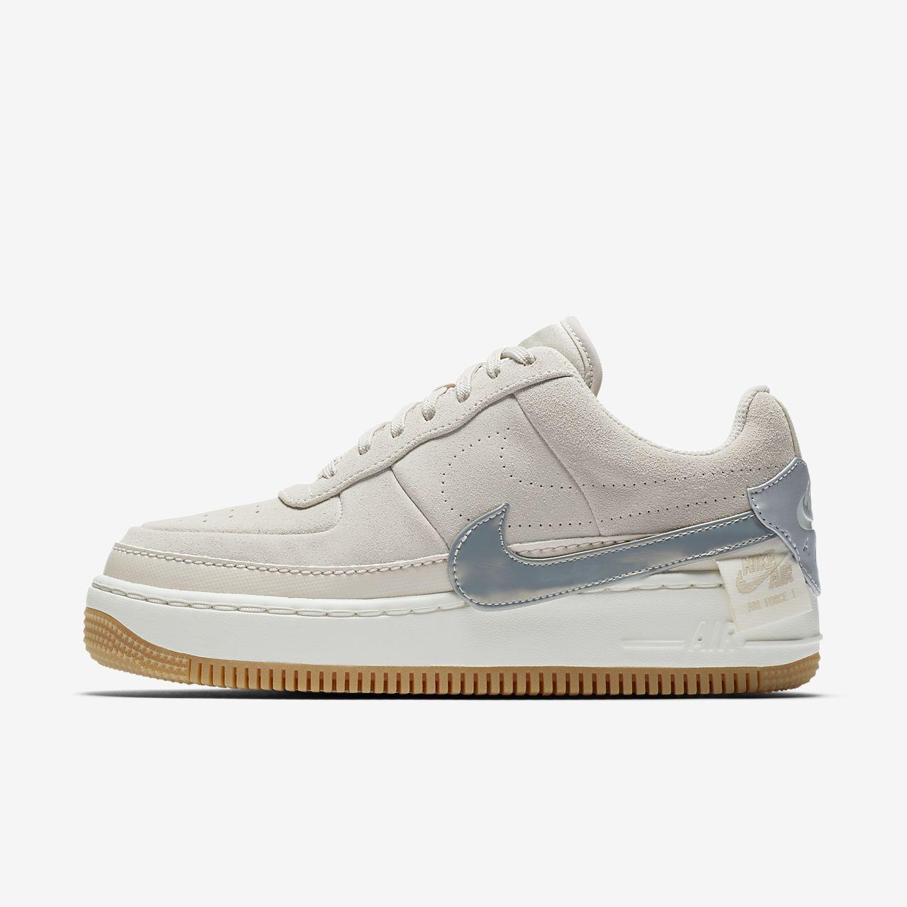 Sko Nike Air Force 1 Jester Suede Metallic för kvinnor