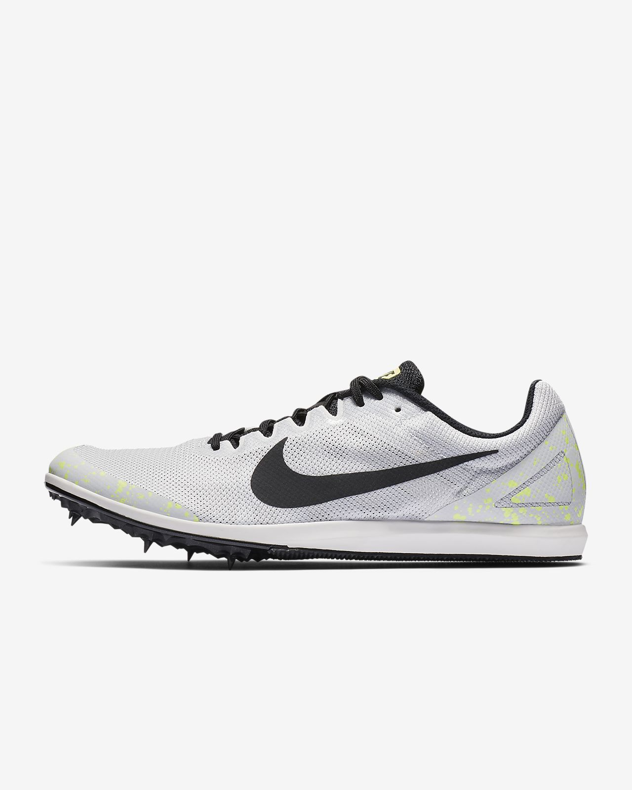 big sale eae75 5a2ba Chaussure de course à pointes mixte Nike Zoom Rival D 10