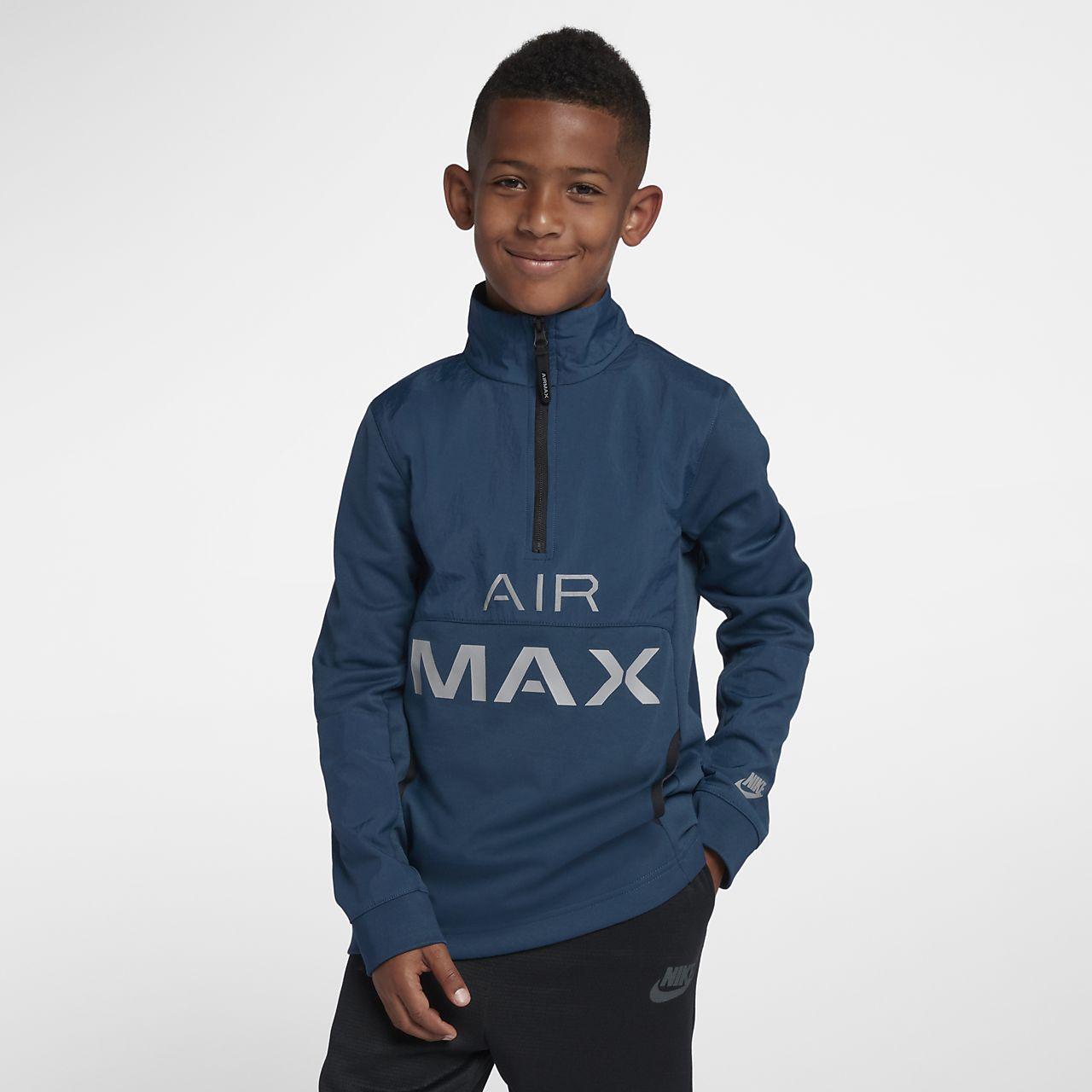 2bfaa61ad9191 Veste de survêtement Nike Air Max pour Garçon plus âgé. Nike.com CA