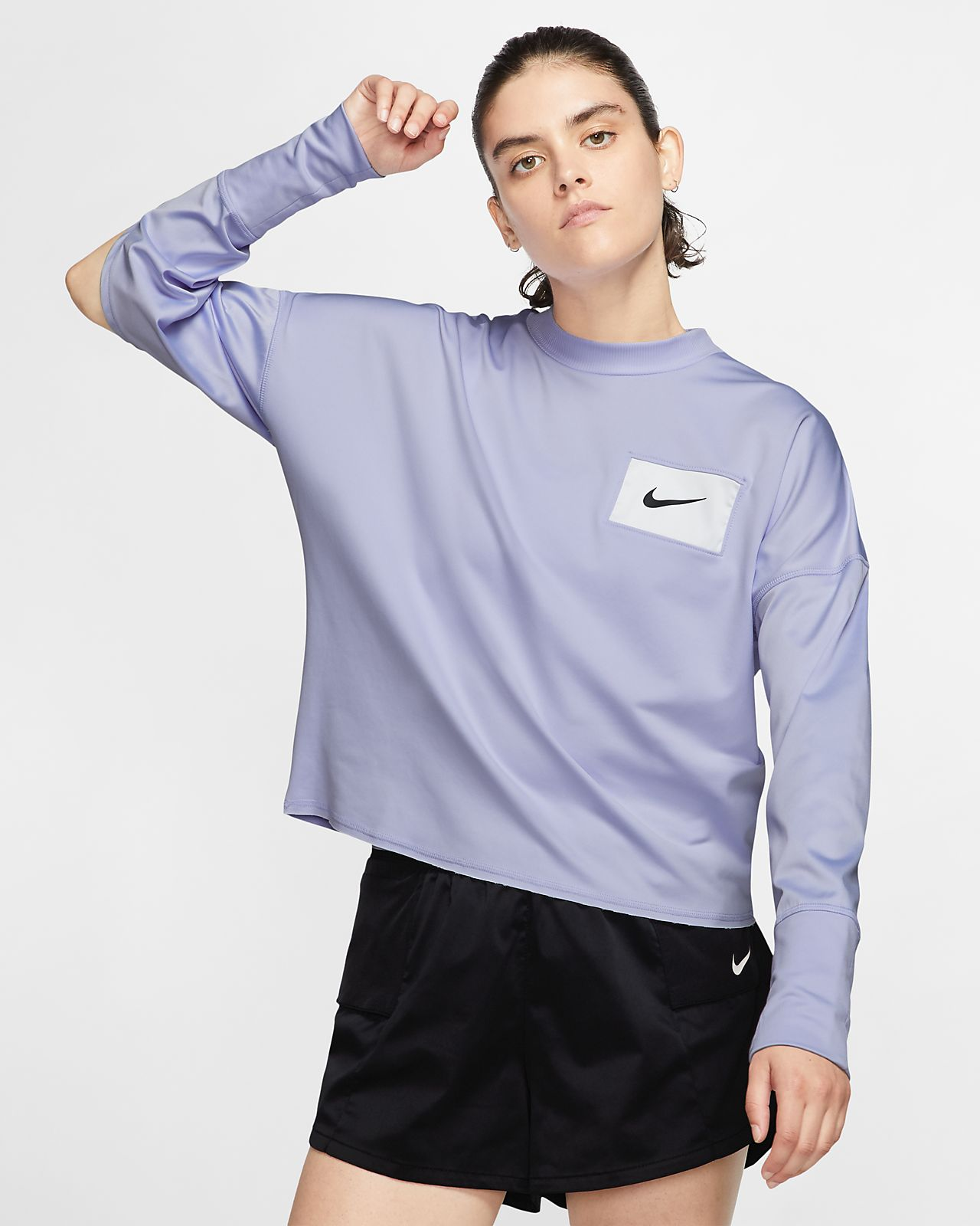 abbigliamento nike running opinioni, Nike felpa girocollo