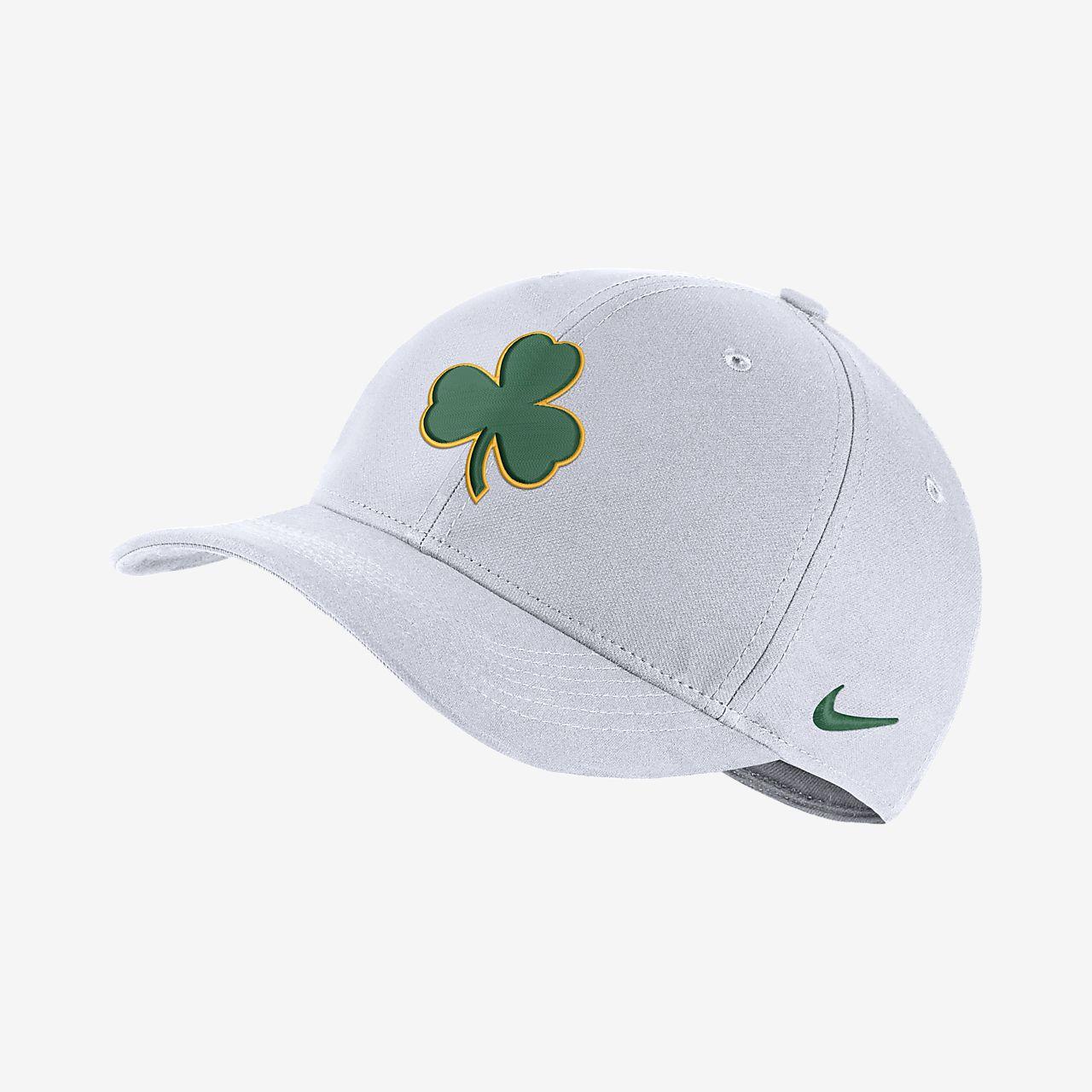 Gorra de la NBA Boston Celtics City Edition Nike AeroBill Classic99 ... 4bb8bfb04b0