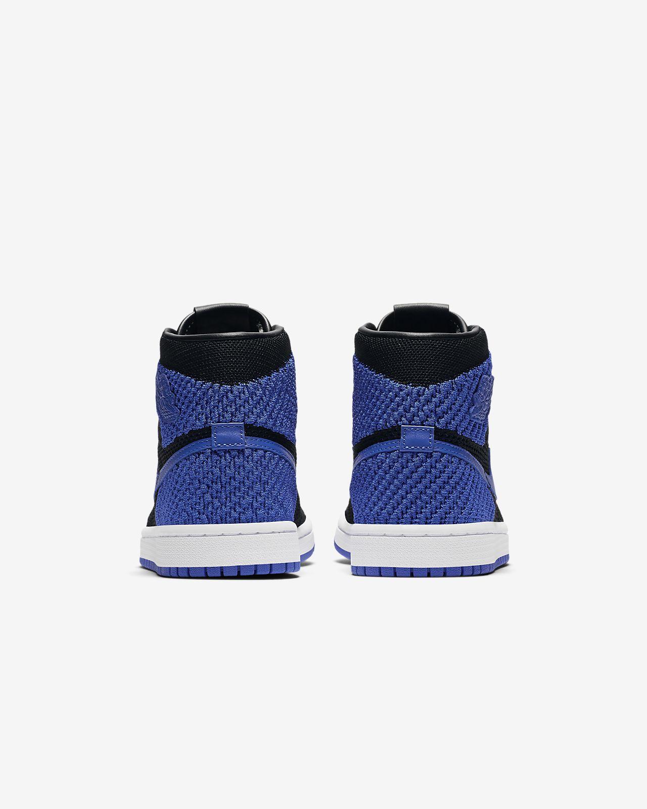 4058973d Кроссовки для школьников Air Jordan 1 Retro High Flyknit. Nike.com RU
