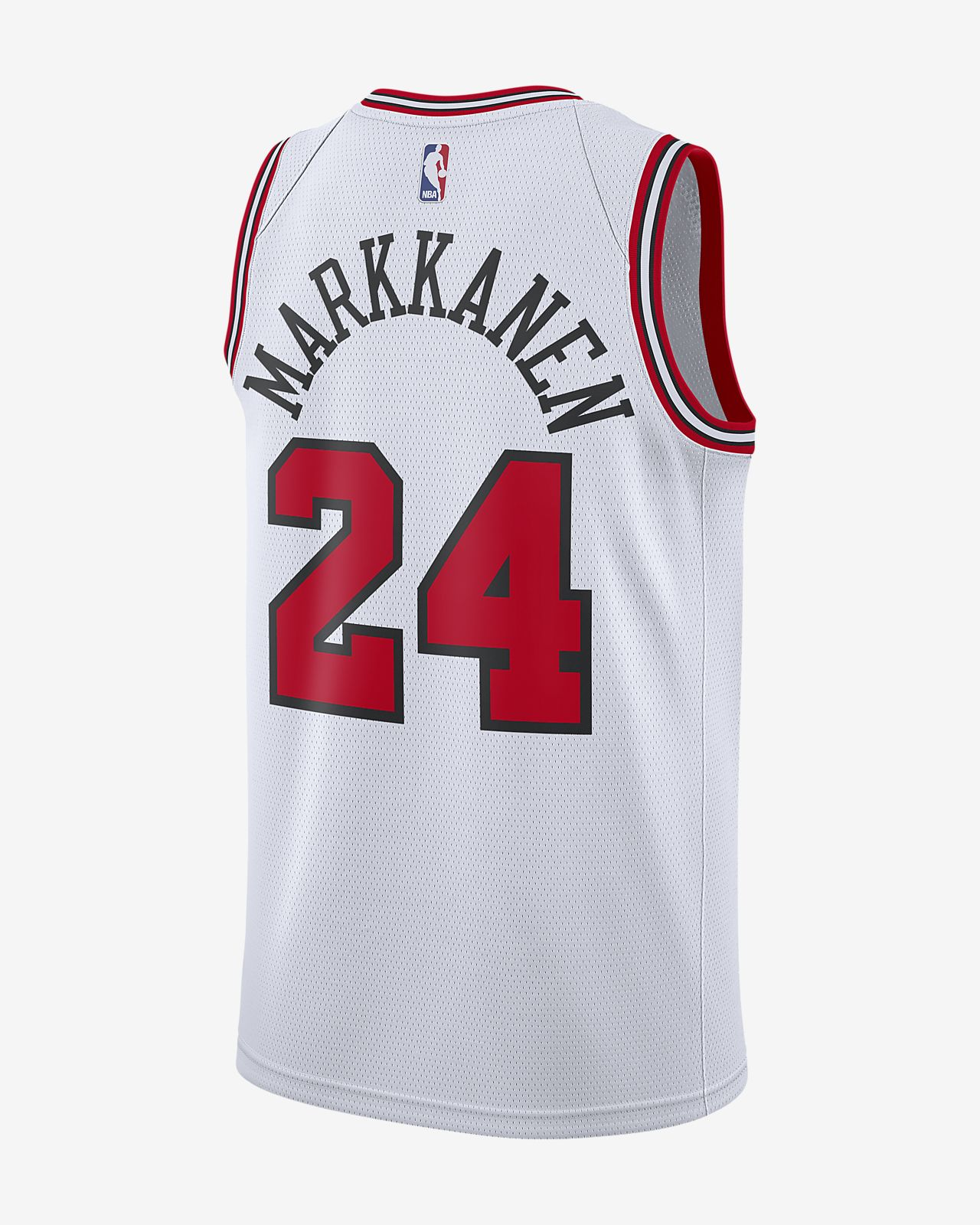 b4c5f56d178692 Men s Nike NBA Connected Jersey. Lauri Markkanen Association Edition  Swingman (Chicago Bulls)