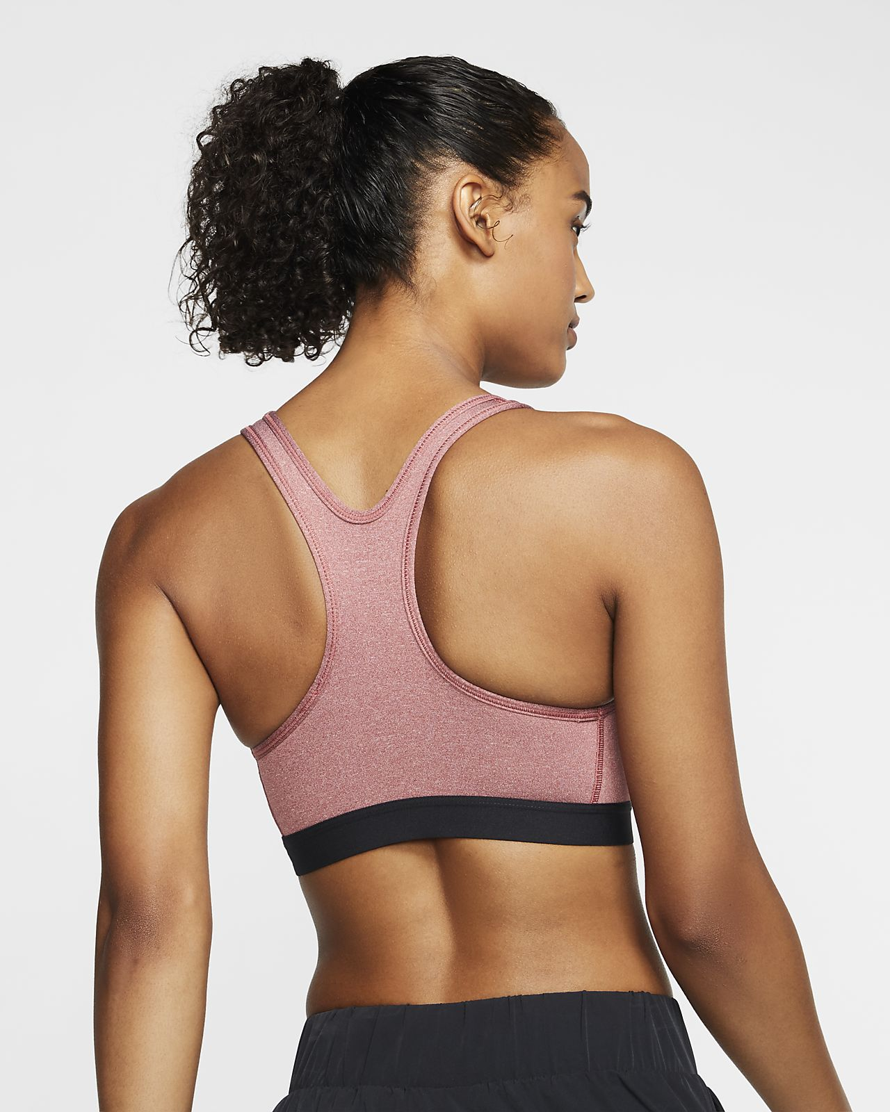 Women's Clothing Nike Victory Graphic Medium-Impact Sports Bra Black XS
